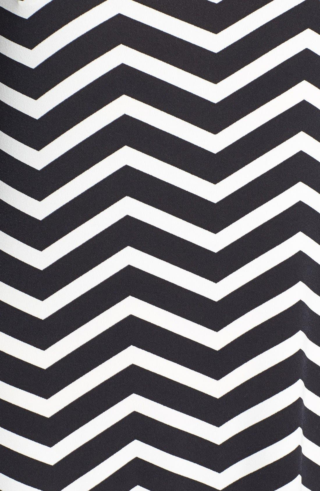 Alternate Image 3  - Calvin Klein Stripe Jersey Maxi Dress