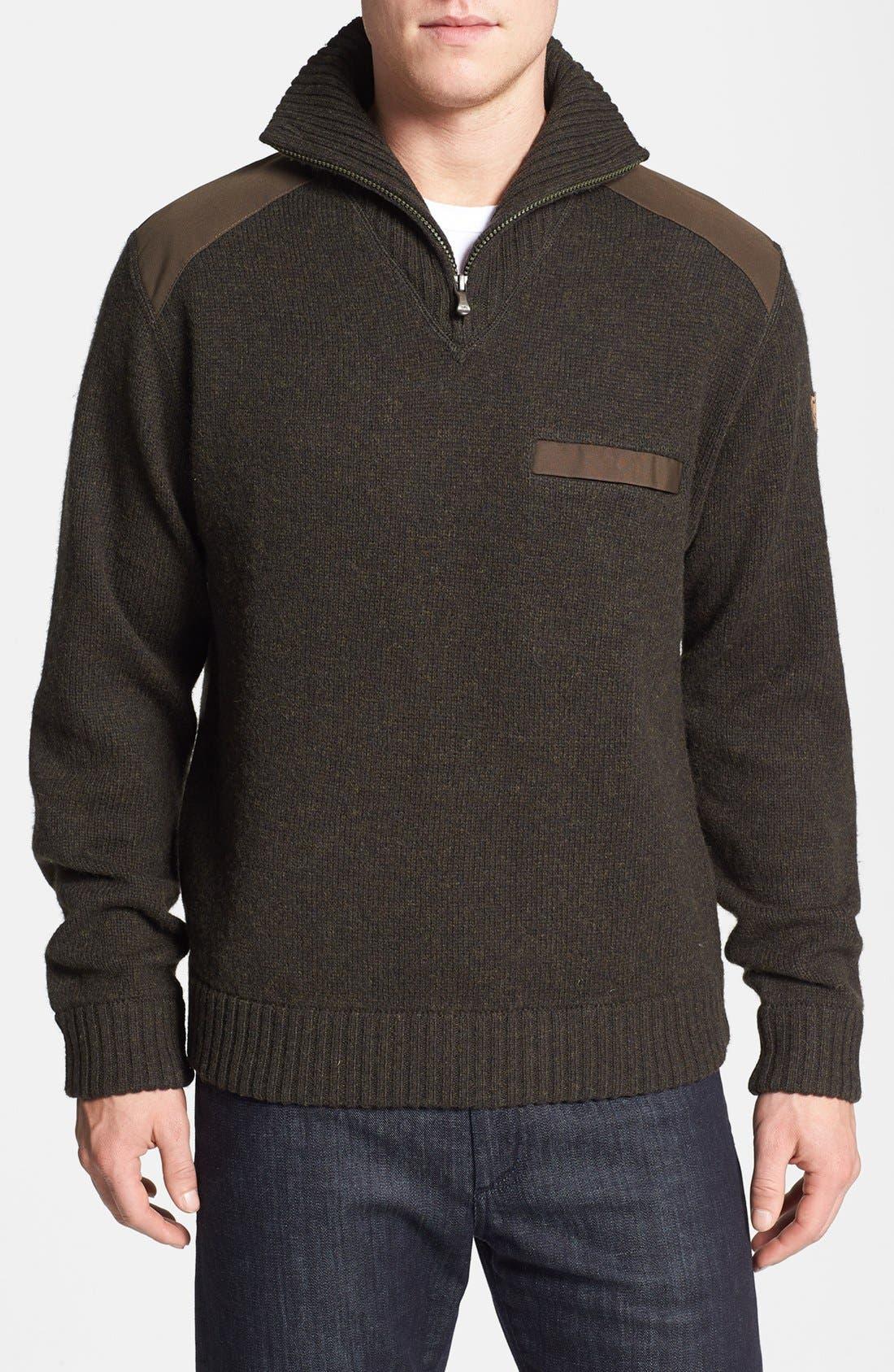 Main Image - Fjällräven 'Koster' Quarter Zip Sweater
