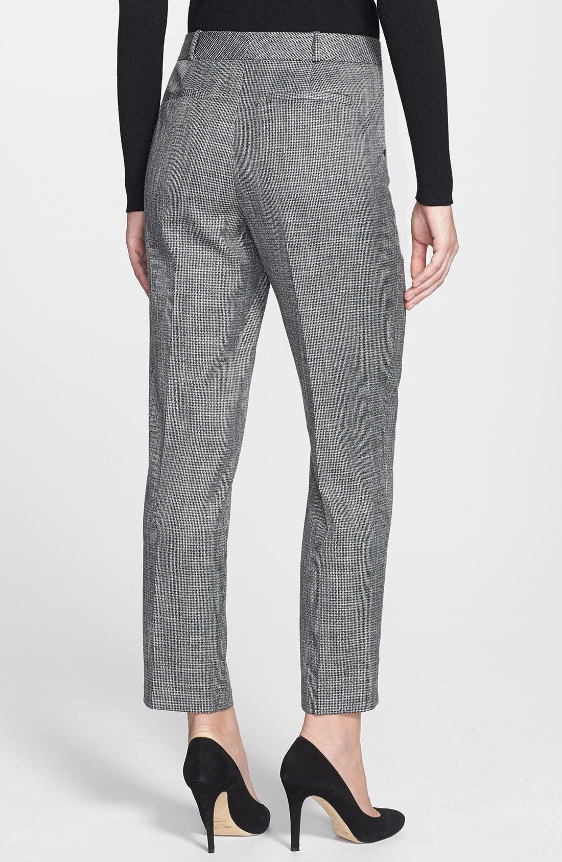 Alternate Image 2  - Classiques Entier® 'Gardenia Houndstooth' Ankle Pants