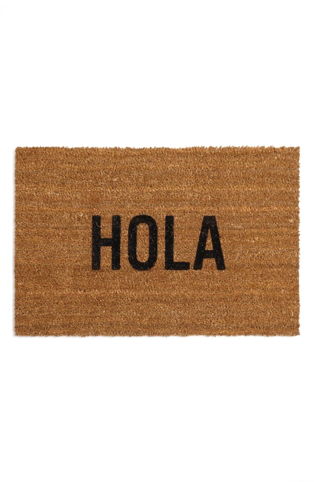 Main Image - Reed Wilson Design 'Hola' Doormat