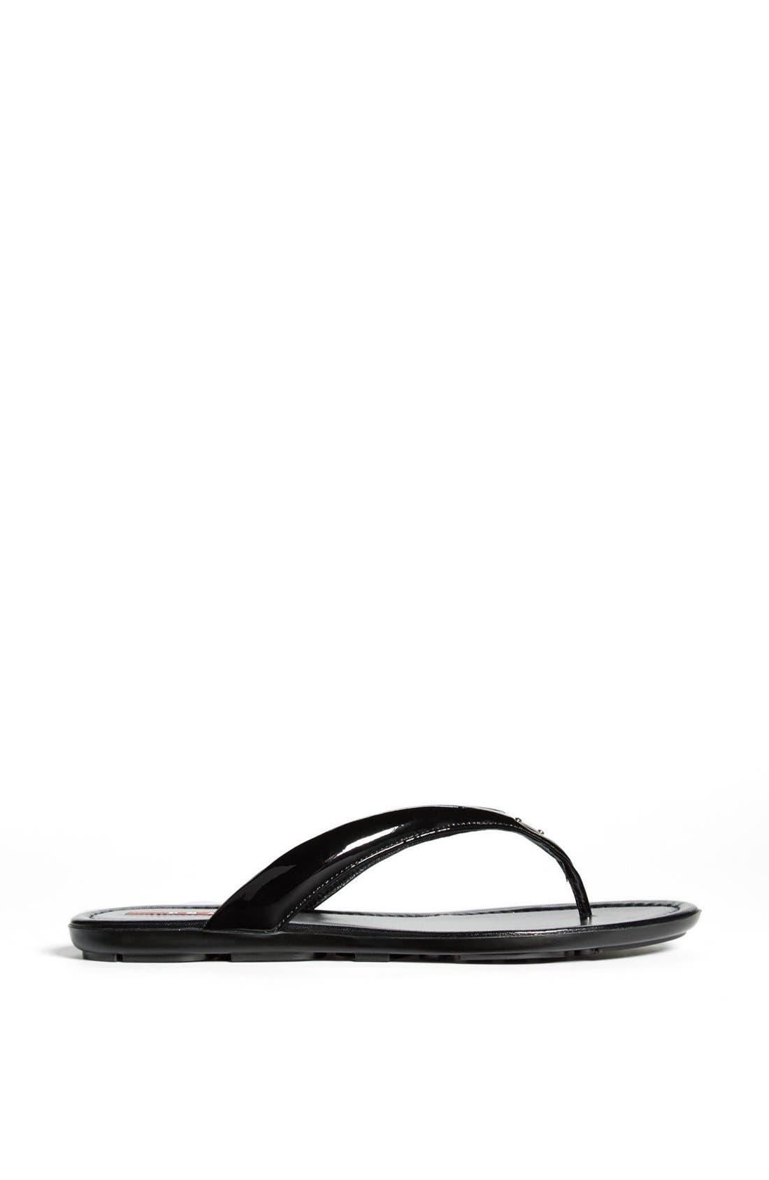 Alternate Image 3  - Prada Logo Thong Sandal