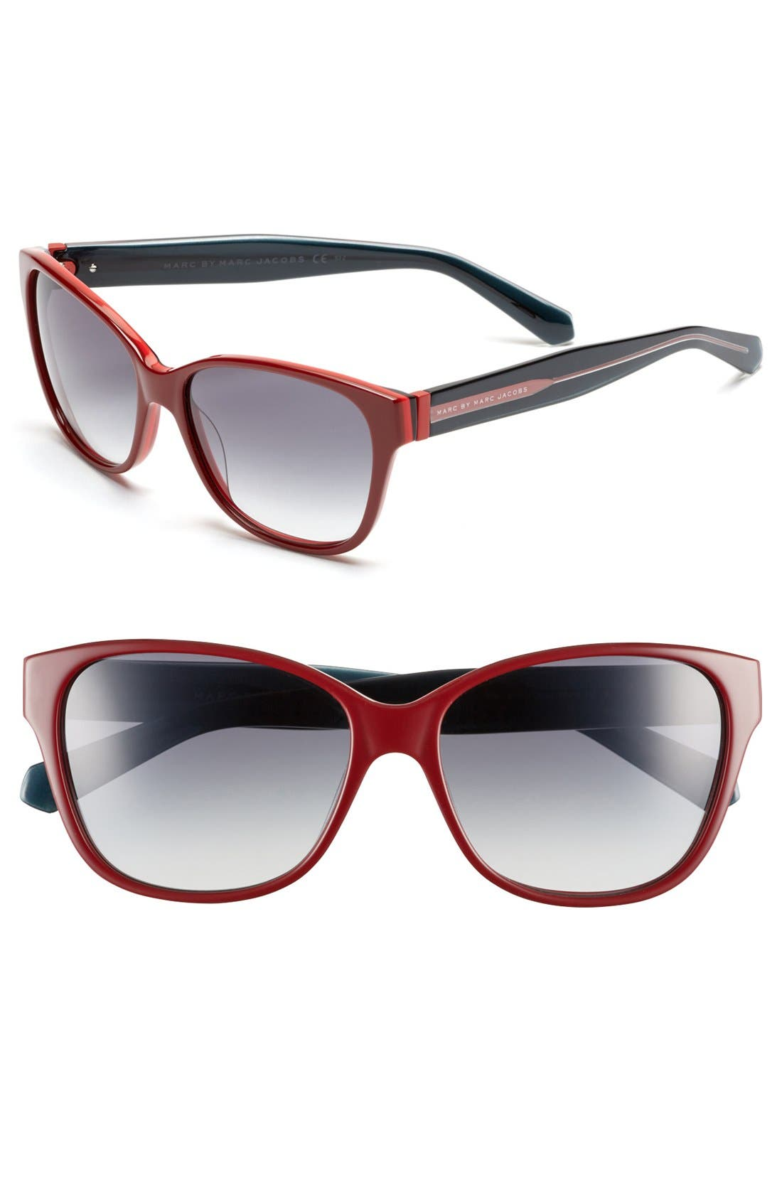 Alternate Image 1 Selected - MARC BY MARC JACOBS 57mm Retro Sunglasses