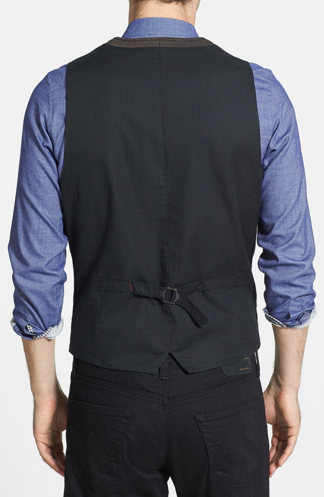 Alternate Image 2  - Jeremiah 'Mumford' Herringbone Vest