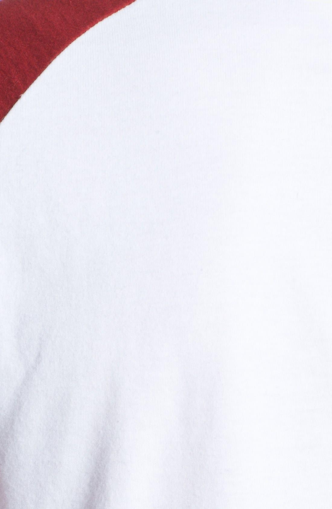 Alternate Image 3  - Topman Contrast Raglan Long-Sleeve T-Shirt