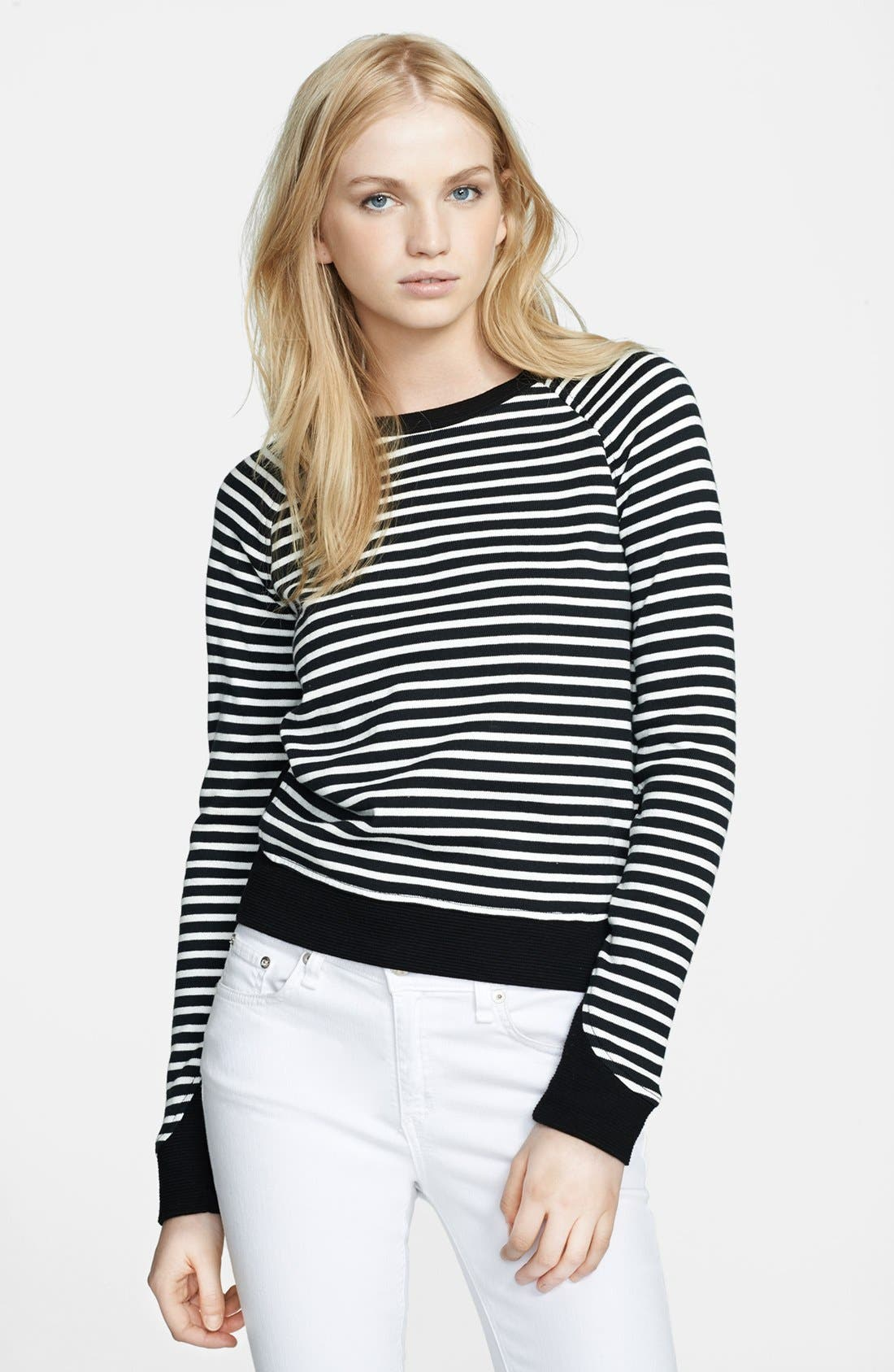 Alternate Image 1 Selected - Whetherly 'Liam' Stripe Knit Sweater