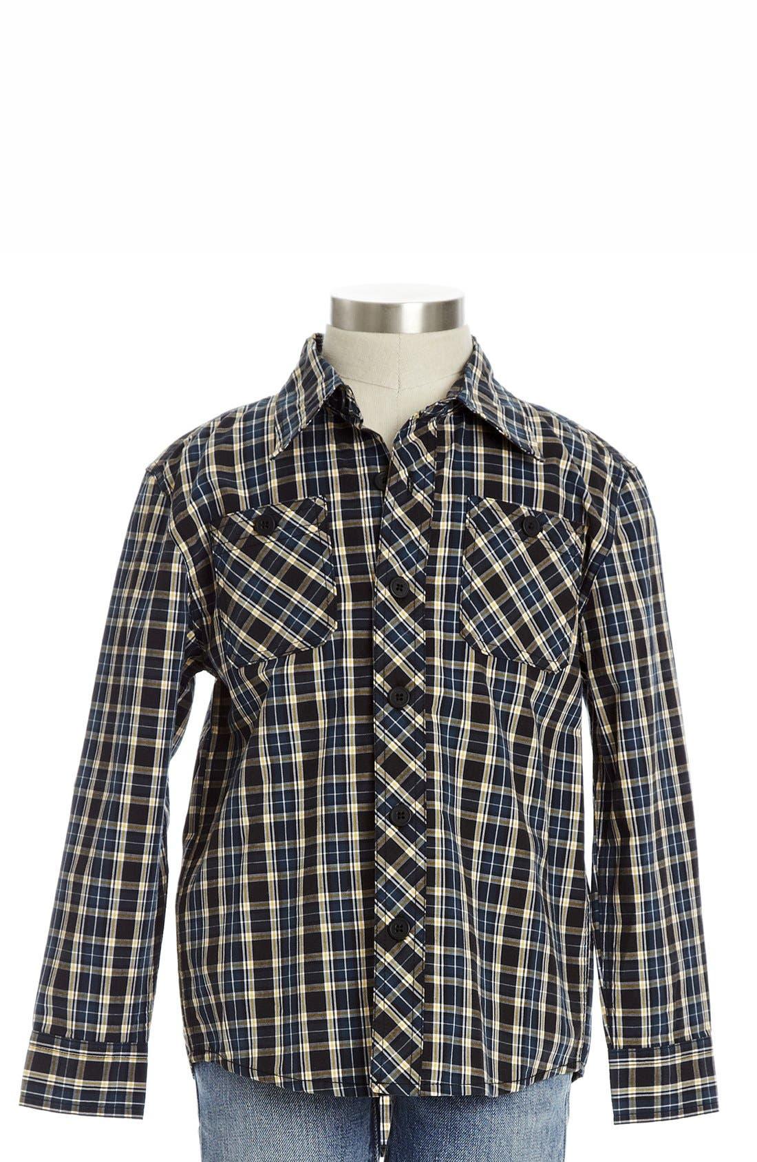 Main Image - Peek 'Costas' Utility Shirt (Toddler Boys, Little Boys & Big Boys)