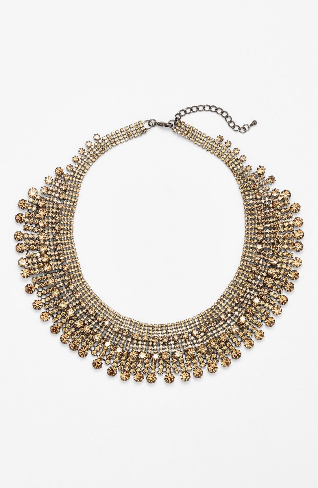 Main Image - Cara Tiered Collar Necklace