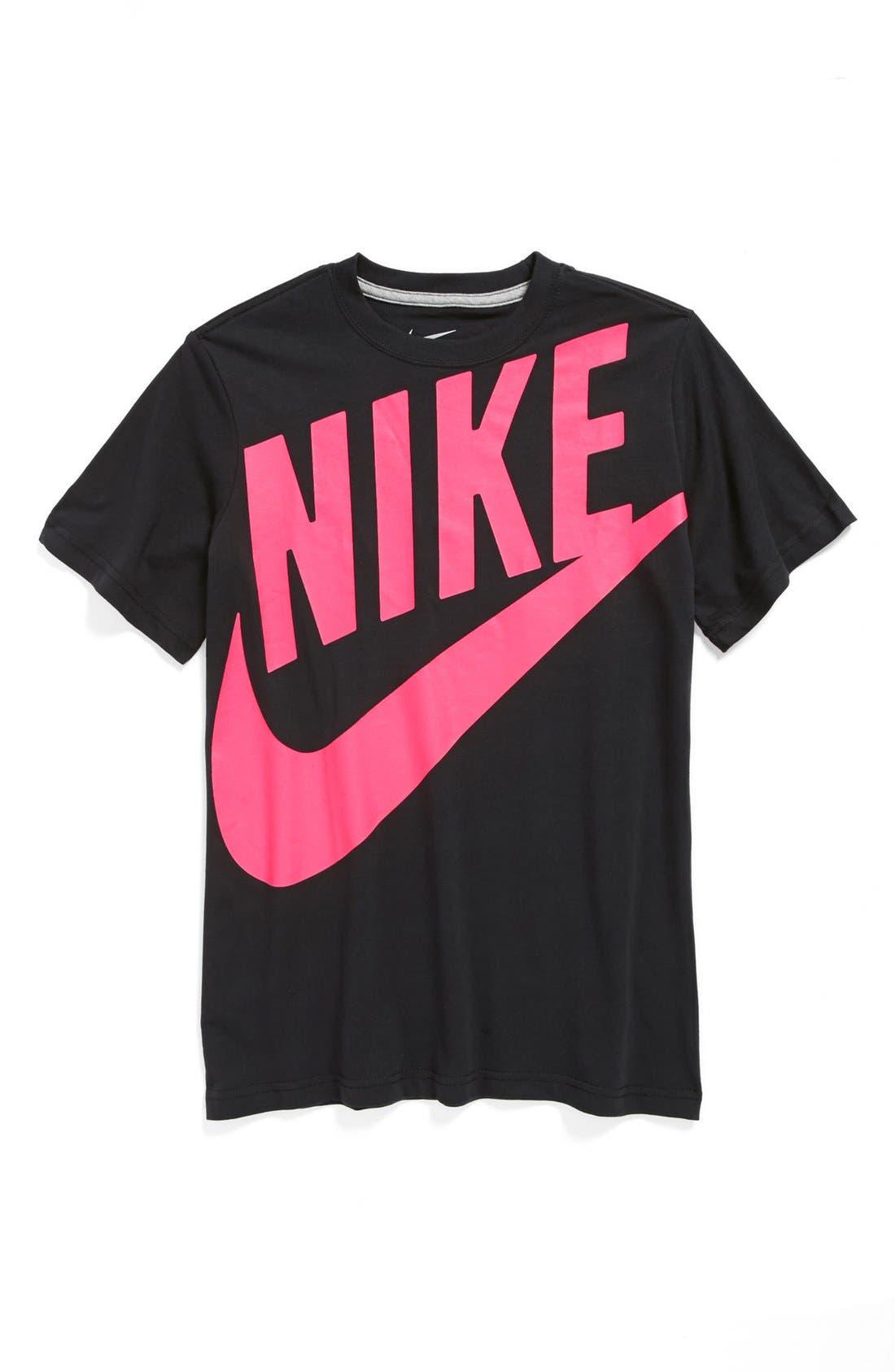 Main Image - Nike 'Futura' T-Shirt (Big Boys)