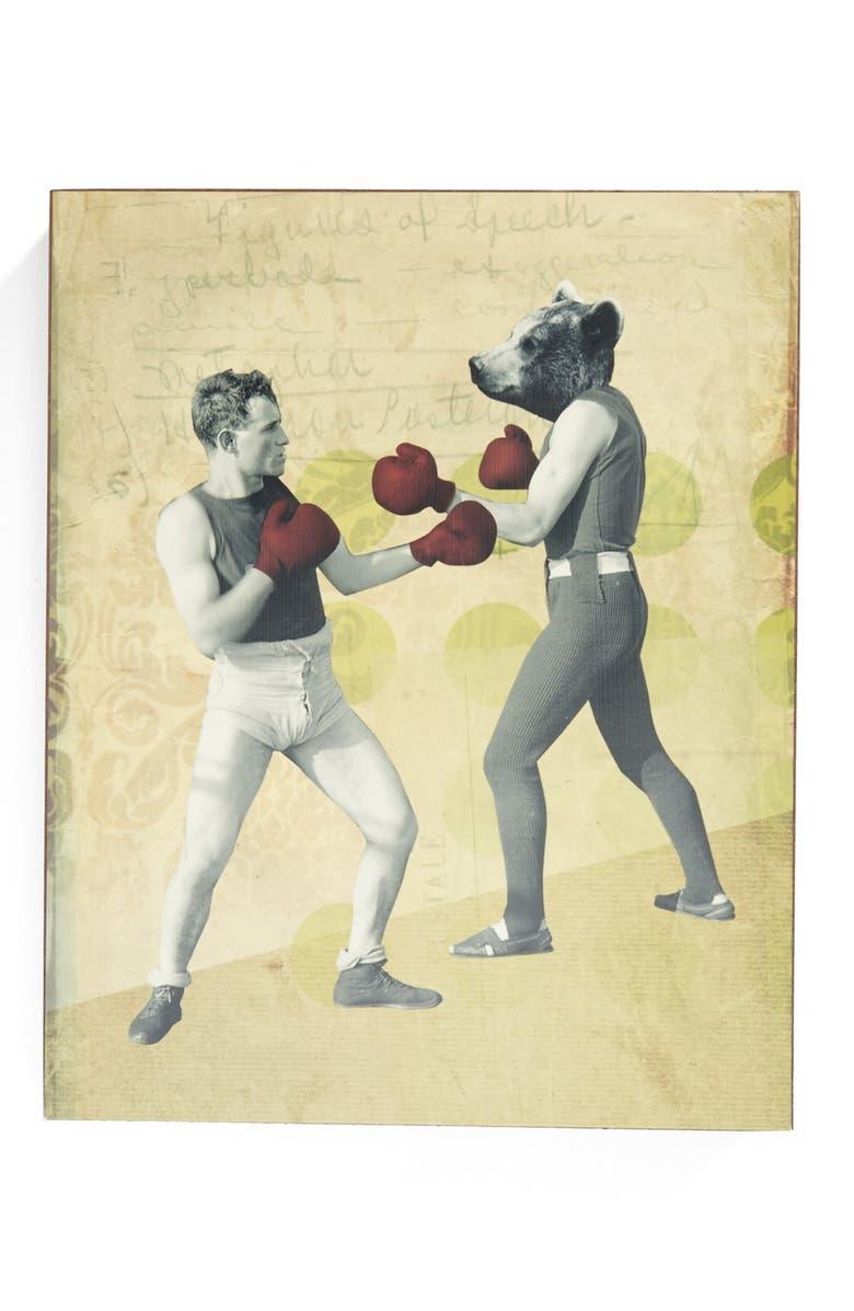 Lucius Designs \'Chuck Battles the Bear\' Wall Art | Nordstrom
