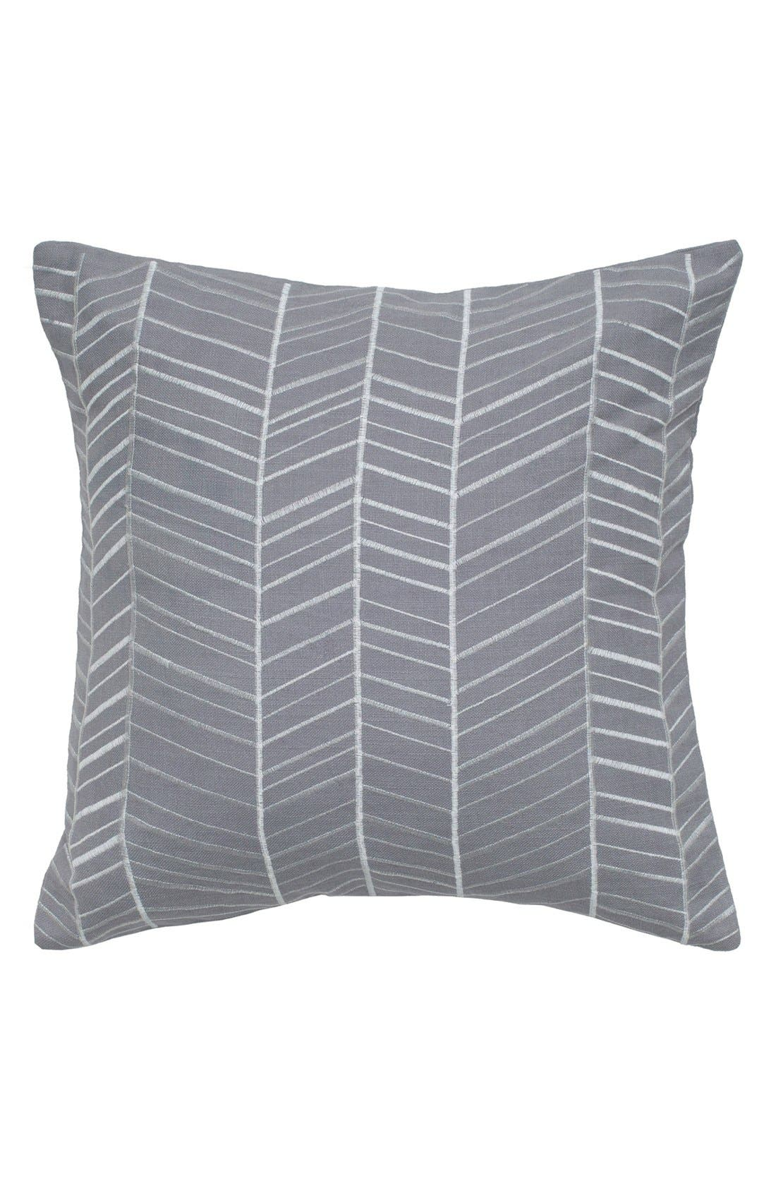 Main Image - Rizzy Home Chevron Pillow