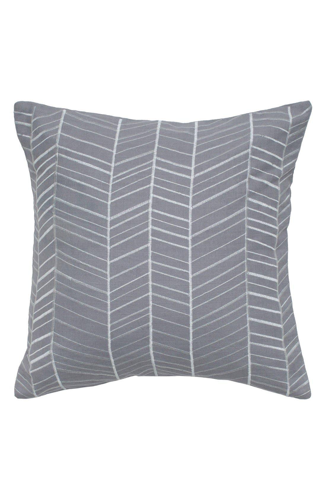 Rizzy Home Chevron Pillow