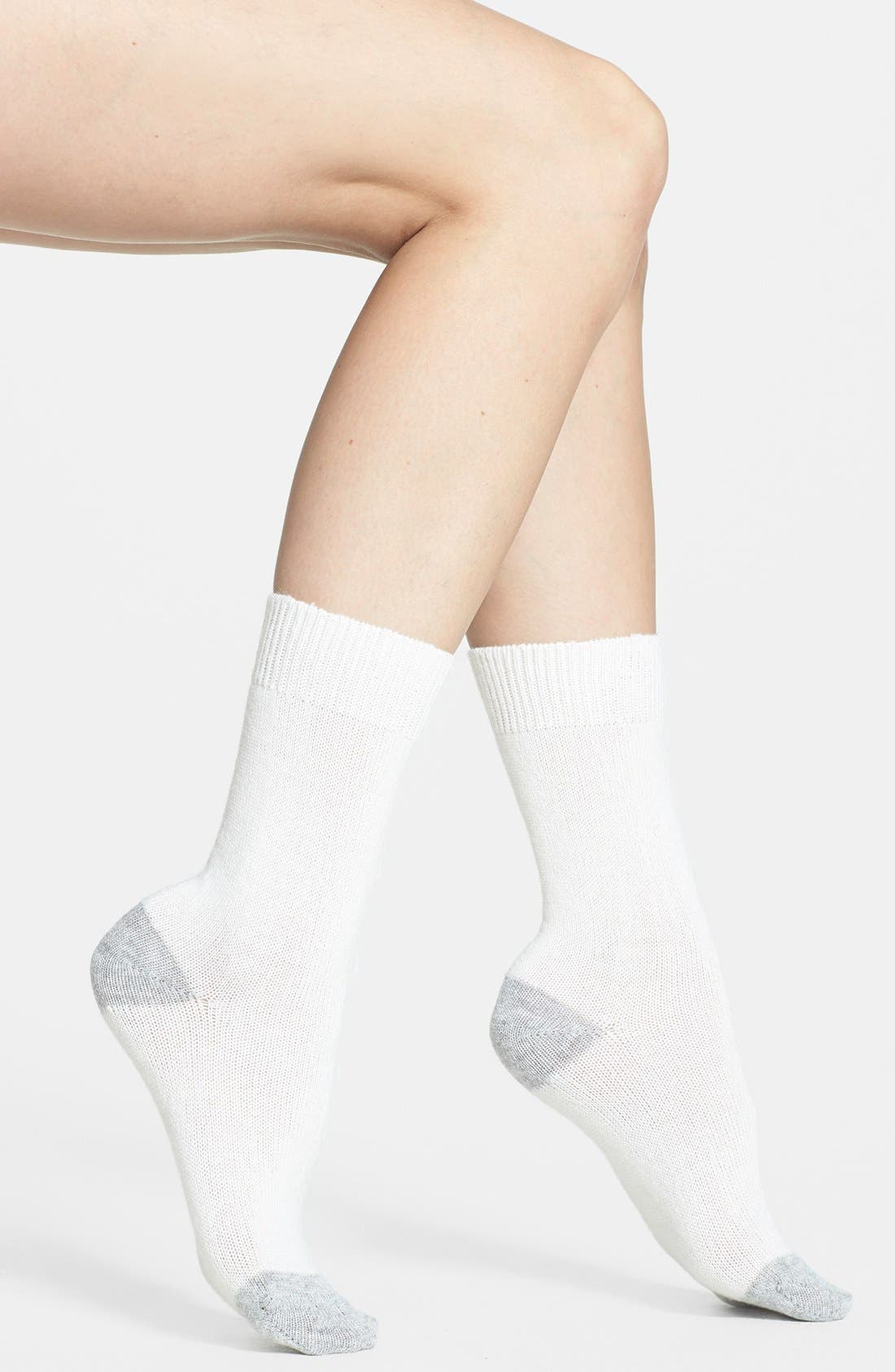 Alternate Image 1 Selected - Nordstrom Crew Socks
