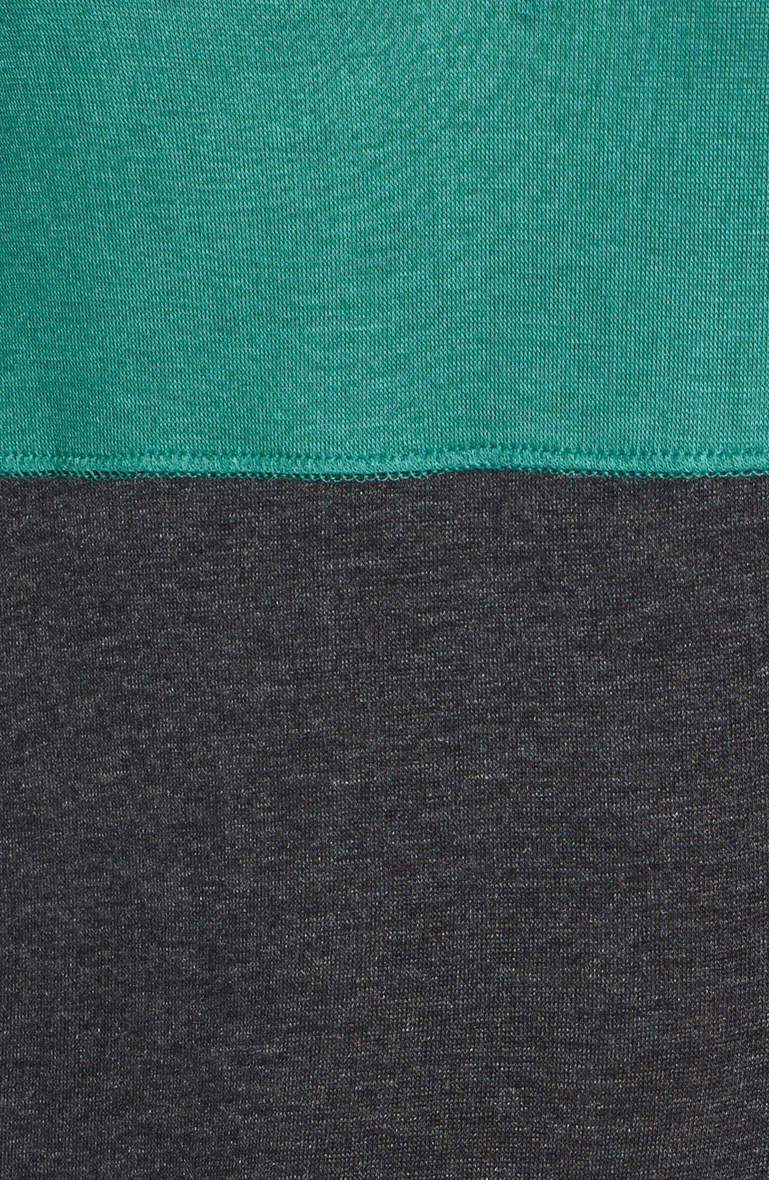Alternate Image 3  - Pleione Colorblock Dolman Sleeve Jersey Top