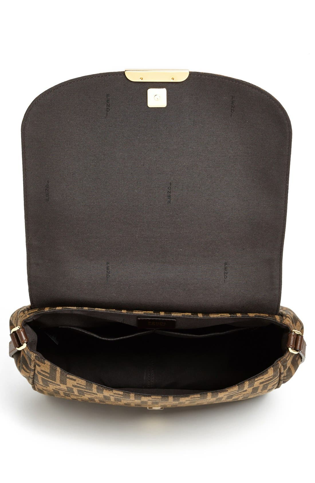 Alternate Image 3  - Fendi 'Zucca - Large' Logo Jacquard Crossbody Bag