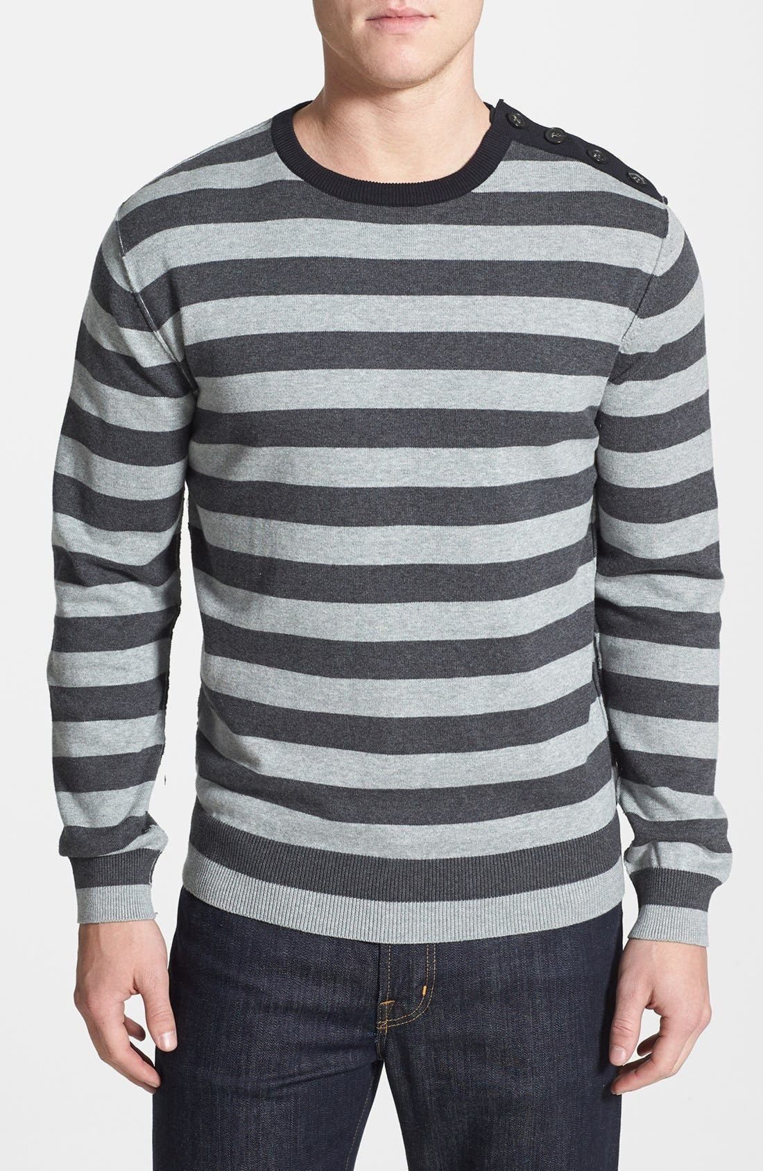 Main Image - French Connection 'Auderly Sonar' Stripe Sweater