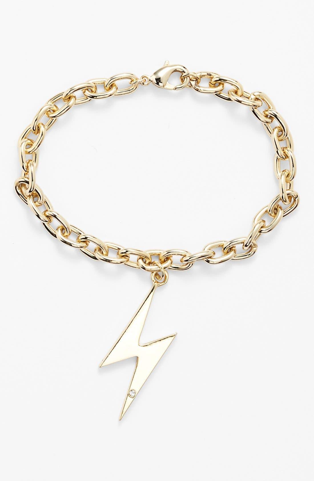 Alternate Image 1 Selected - Ariella Collection Lightning Bolt Charm Bracelet