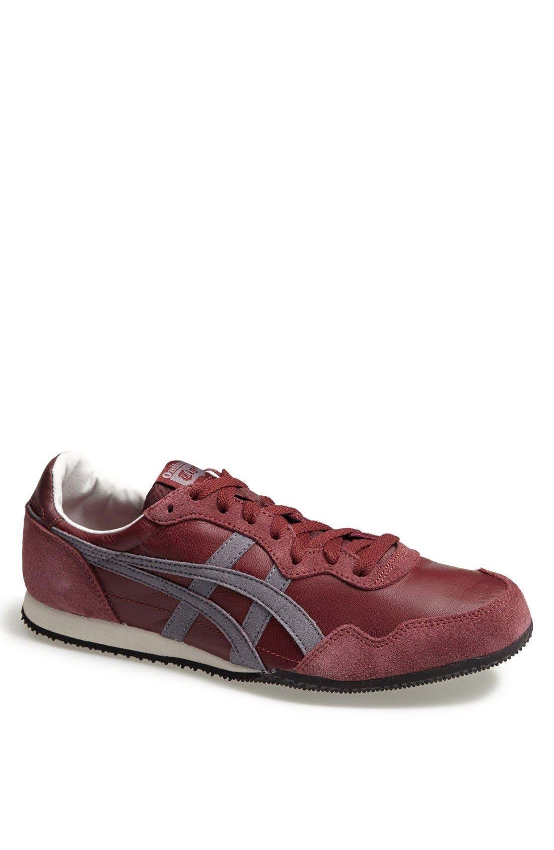 'Serrano' Sneaker,                             Main thumbnail 1, color,                             Burgundy/ Grey
