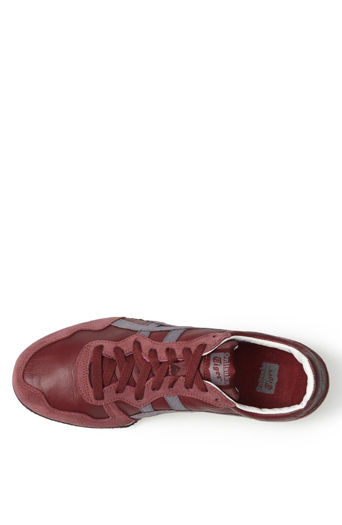 'Serrano' Sneaker,                             Alternate thumbnail 3, color,                             Burgundy/ Grey