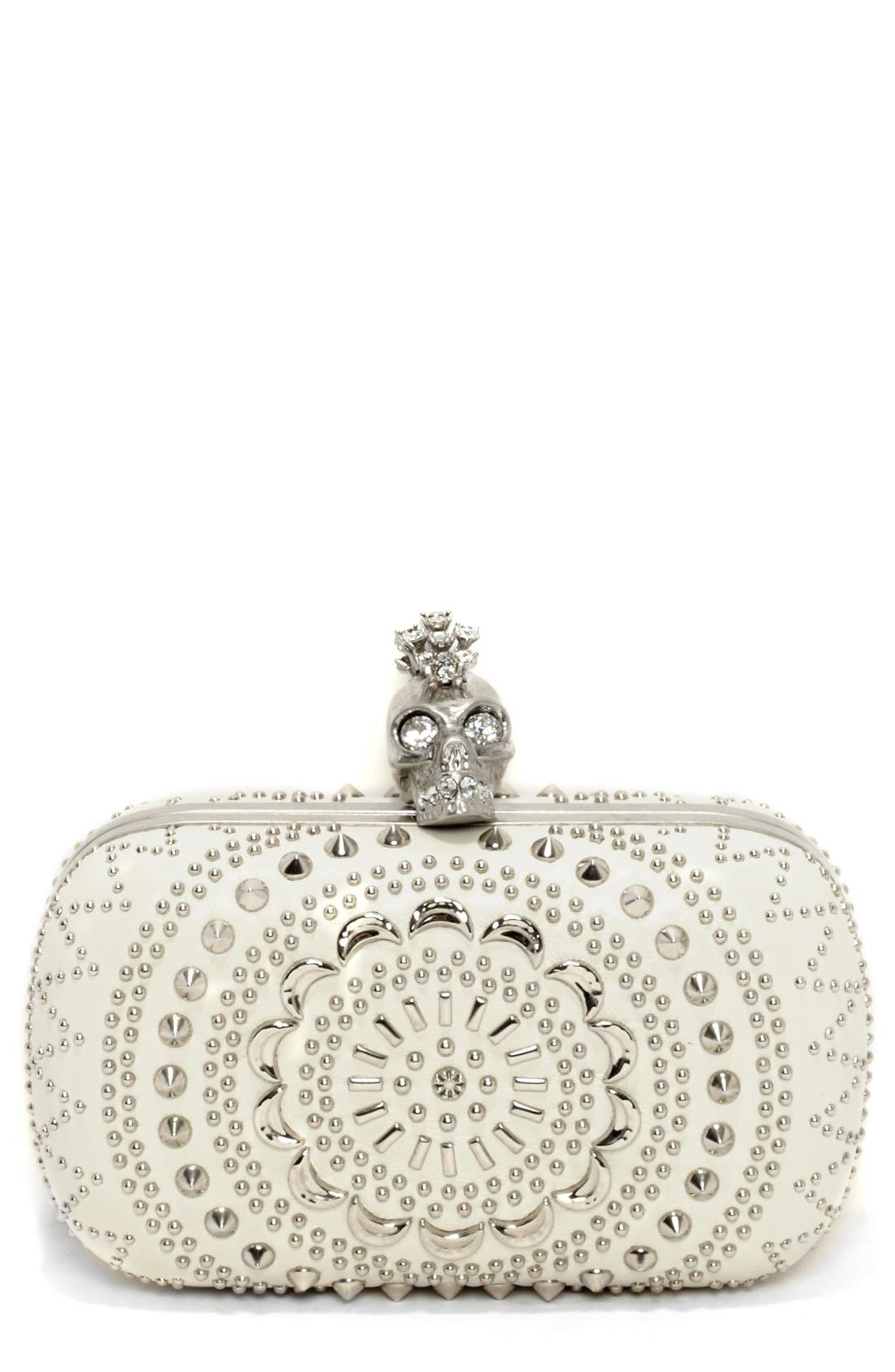 Alternate Image 1 Selected - Alexander McQueen 'Punk Skull' Clutch