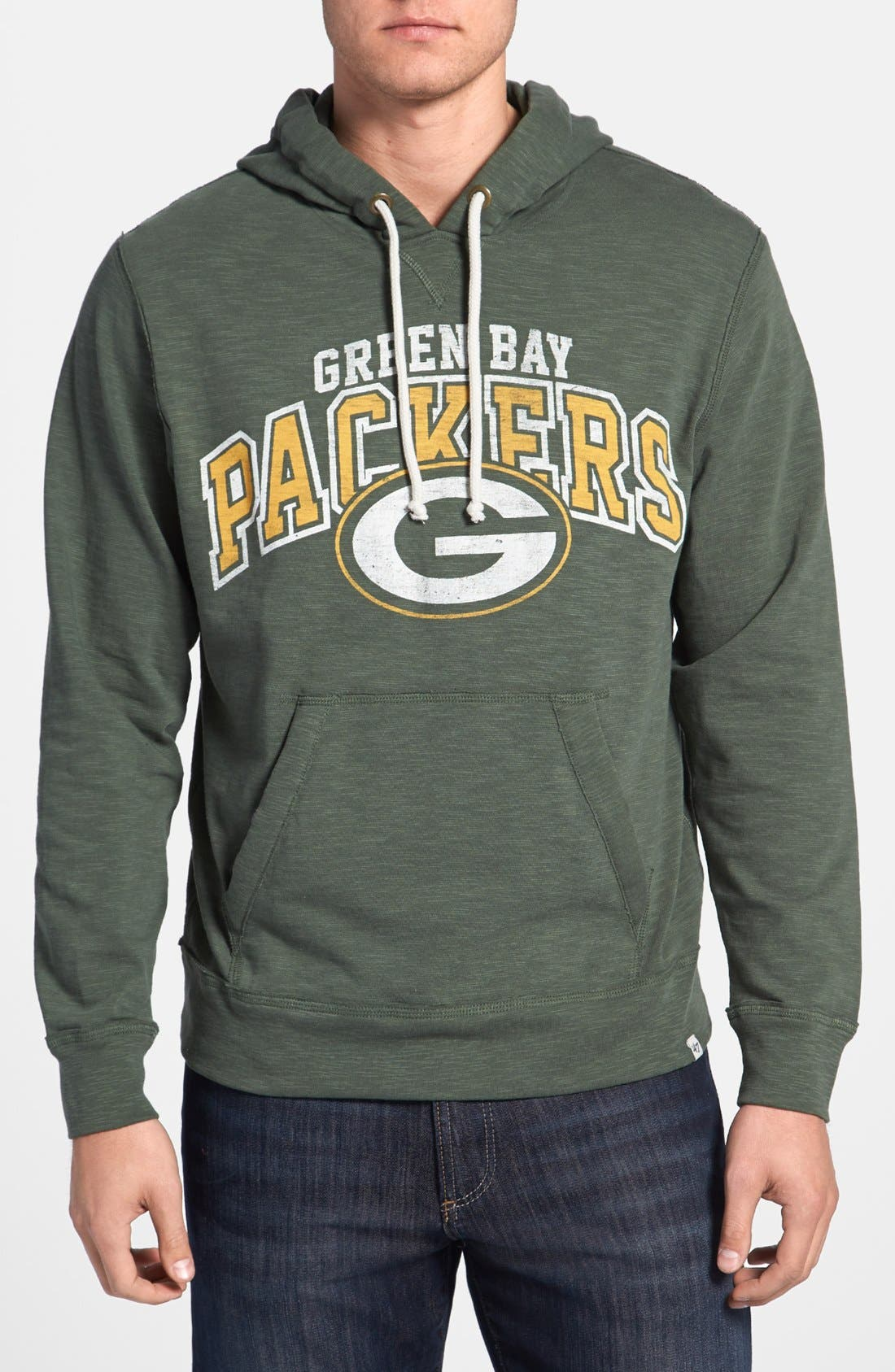 Main Image - '47 'Slugger - Green Bay Packets' Hoodie