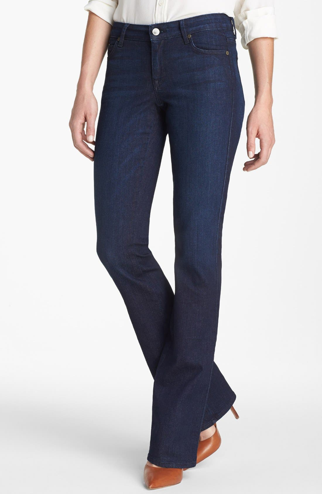 Alternate Image 1 Selected - CJ by Cookie Johnson 'Life' Baby Bootcut Jeans