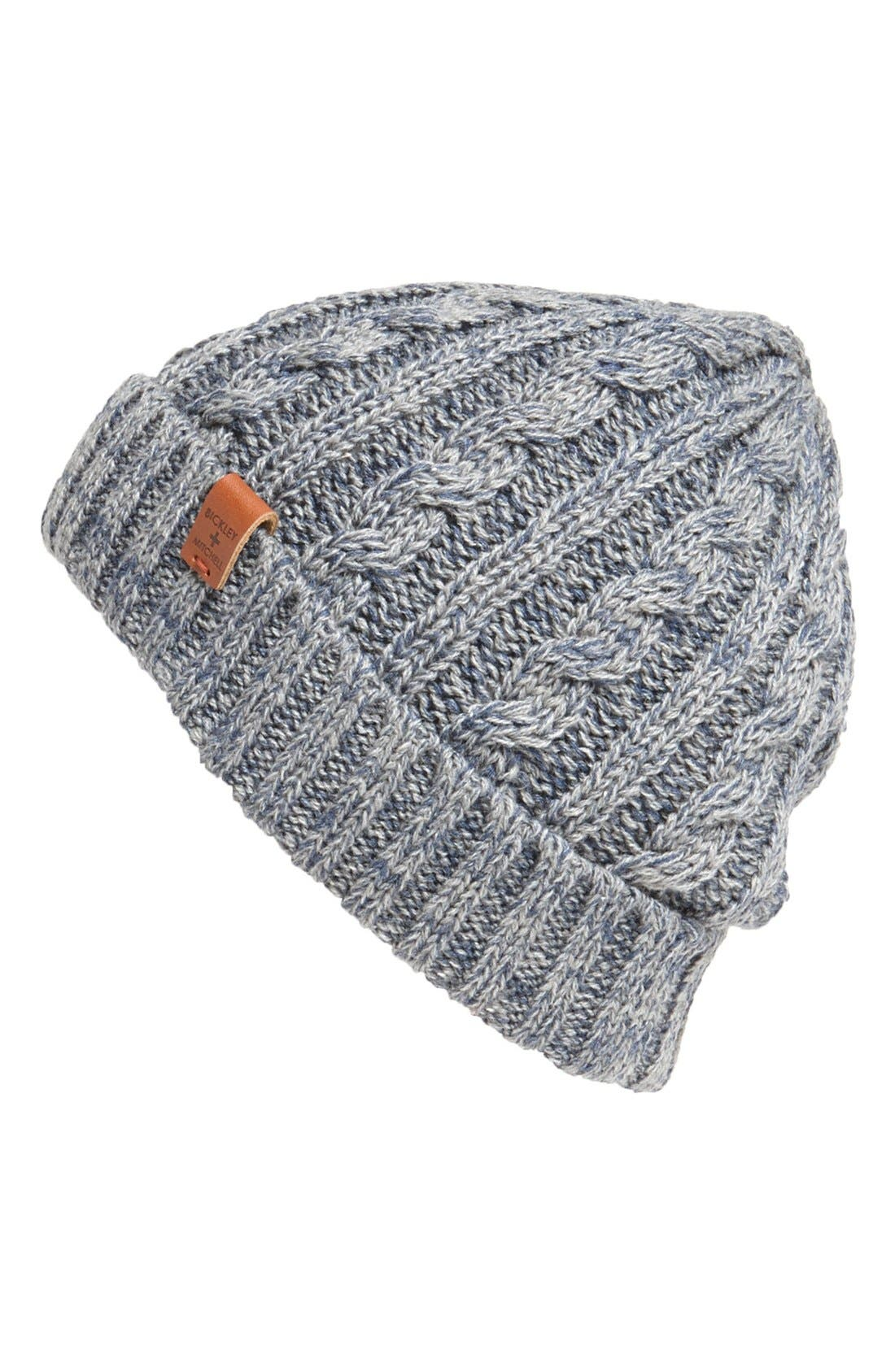Alternate Image 1 Selected - Bickley + Mitchell Cable Knit Hat