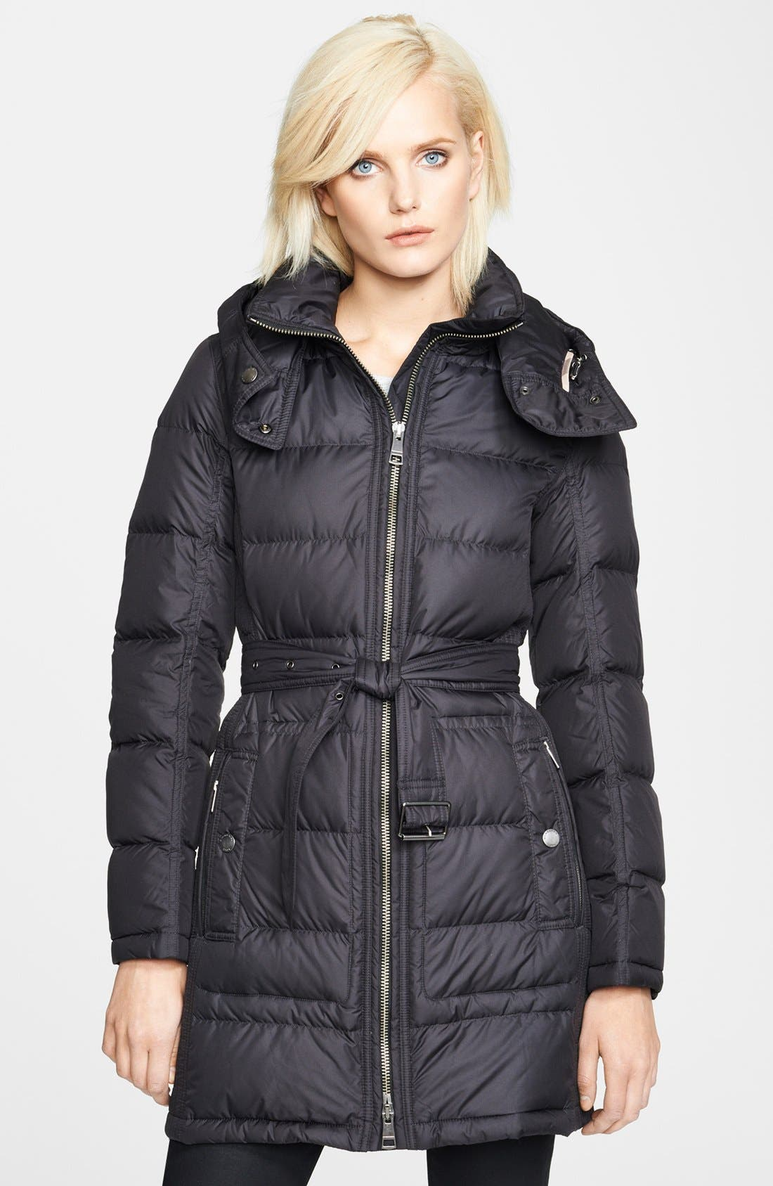Alternate Image 1 Selected - Burberry Brit 'Metcalf' Down Coat