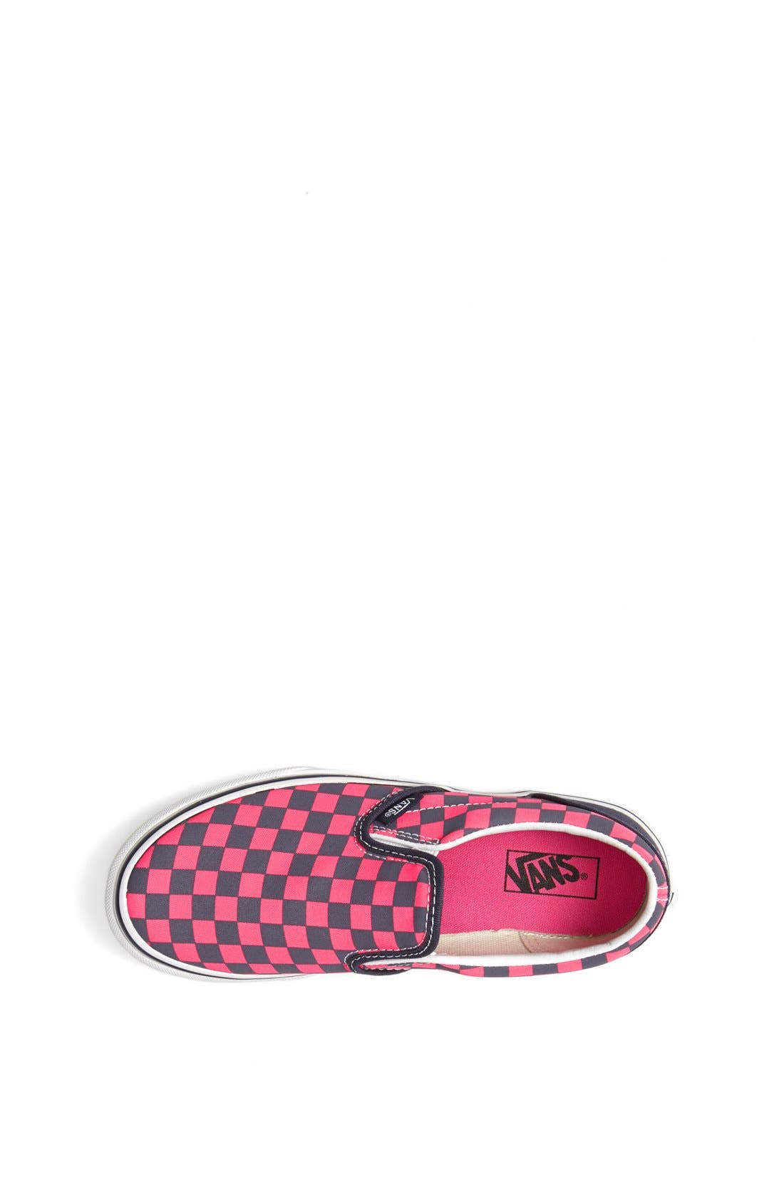 Alternate Image 3  - VANS CLASSIC SLIP ON CHECKERBOARD SNEAKER