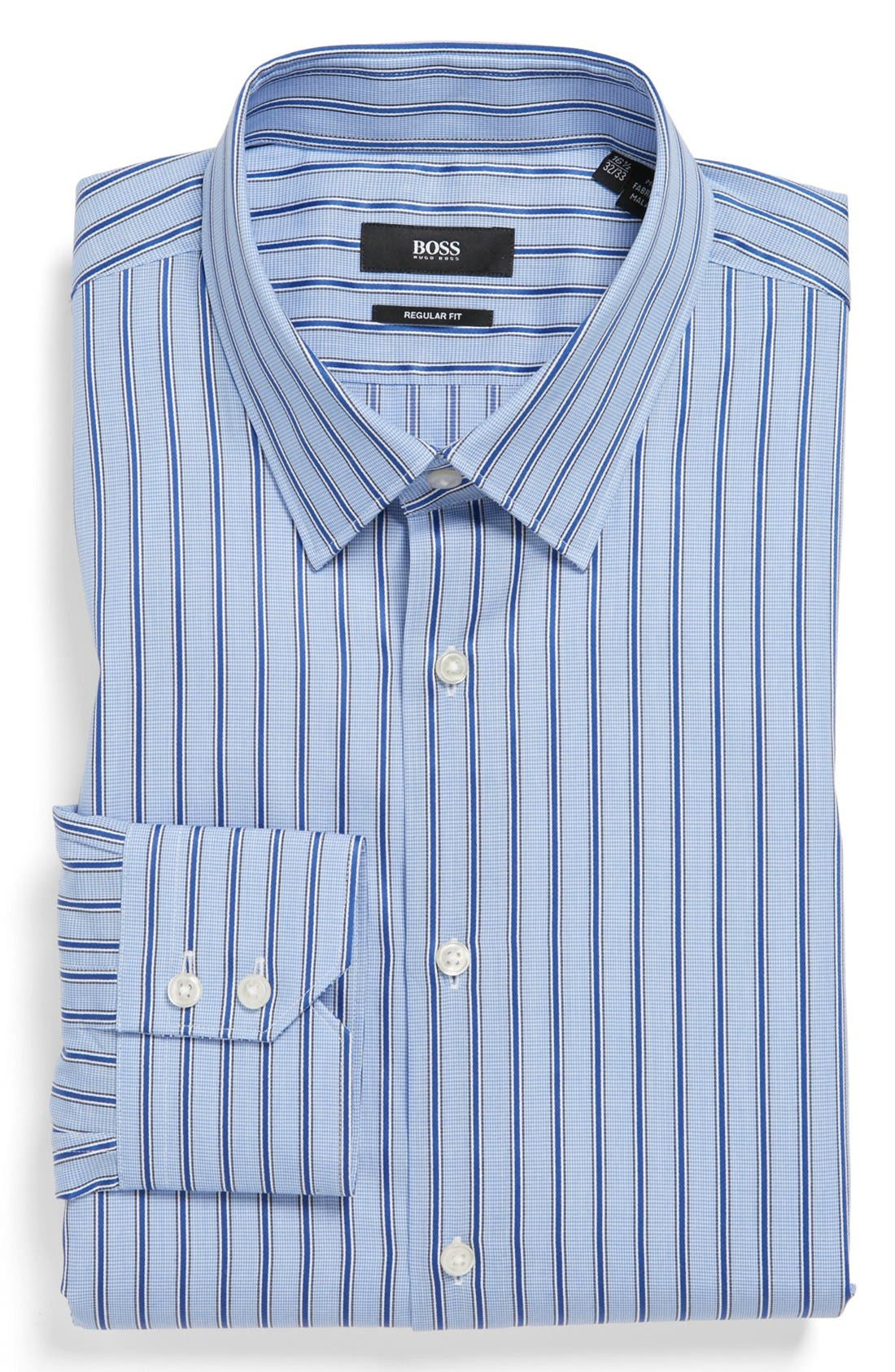 Alternate Image 1 Selected - BOSS HUGO BOSS 'Gulio' US Regular Fit Dress Shirt