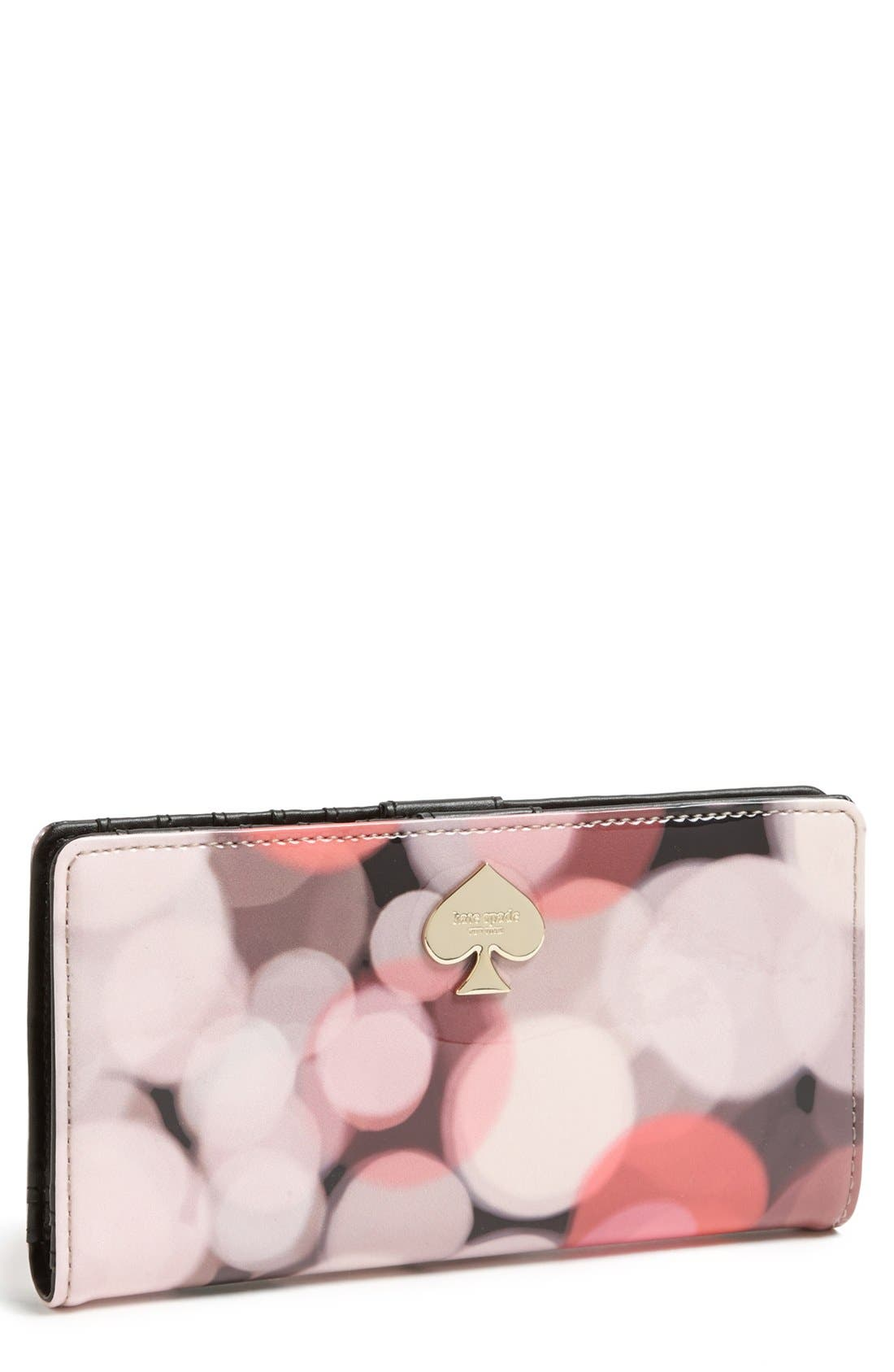 Main Image - kate spade new york 'stacy' continental wallet