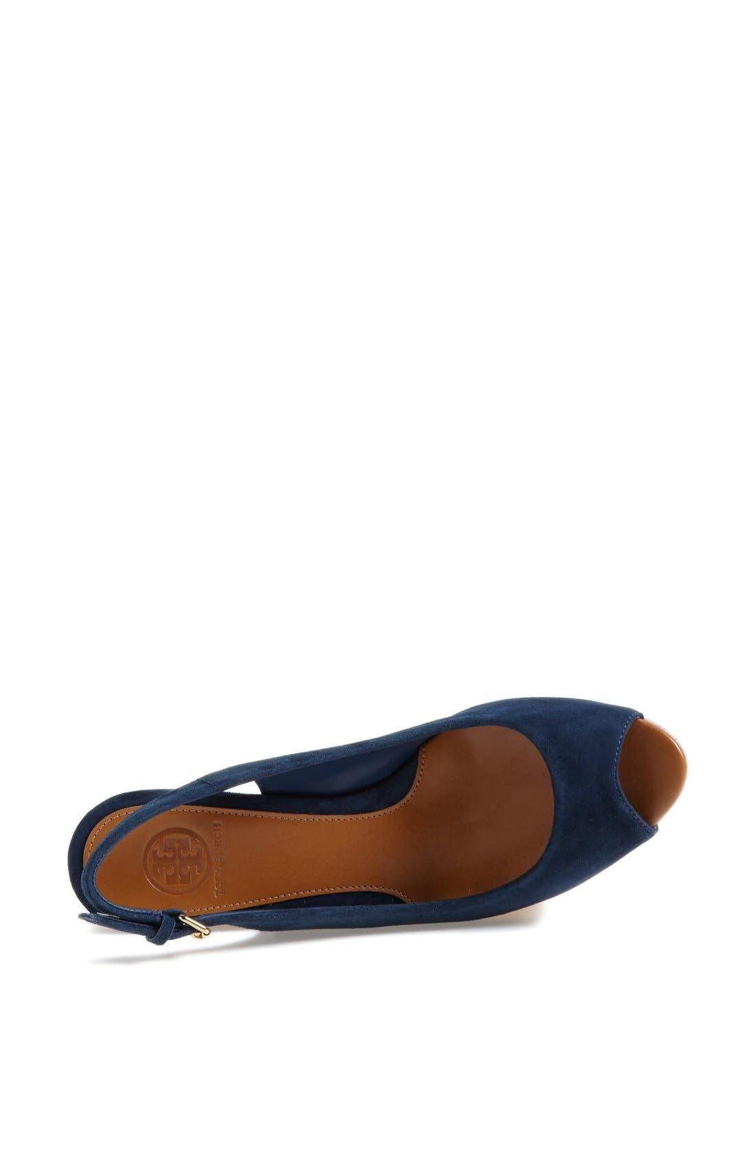 Alternate Image 4  - Tory Burch 'Rosalind' Wedge Sandal (Online Only)
