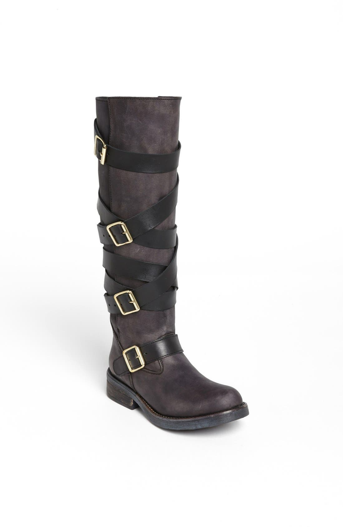 Main Image - Steve Madden 'Bryant' Belted Riding Boot