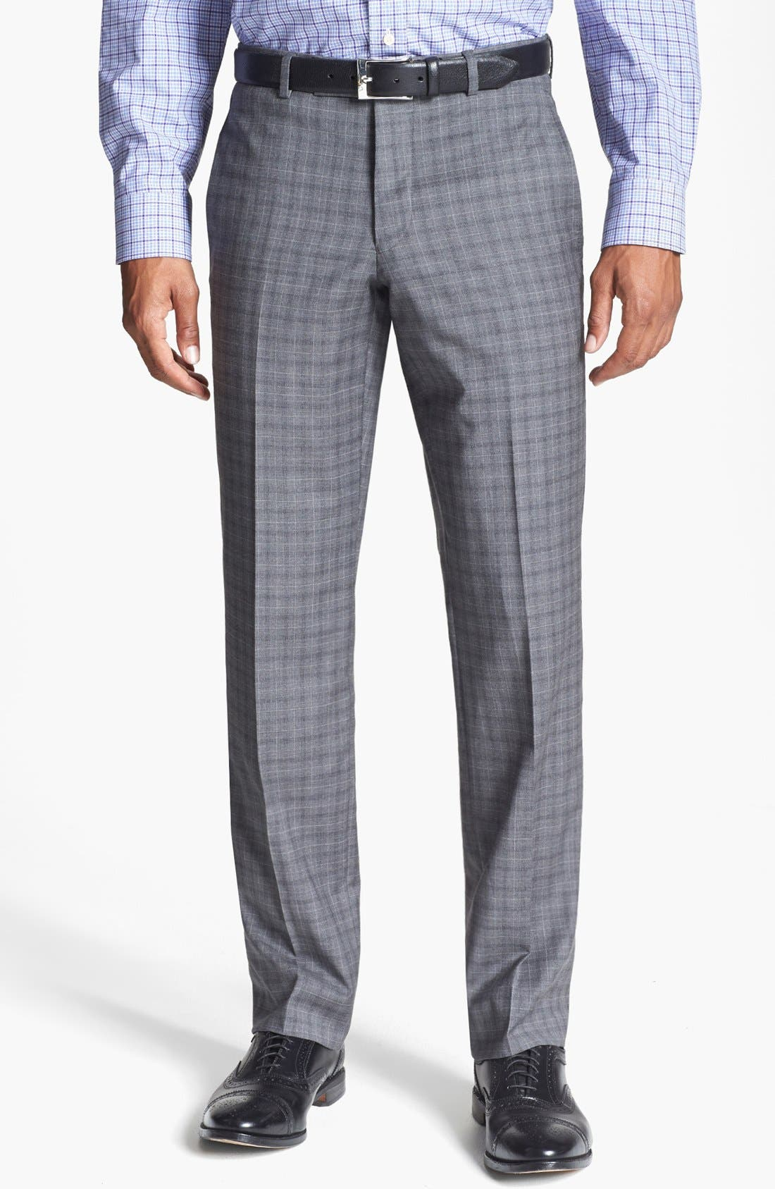 Alternate Image 4  - Ted Baker London 'Jones' Trim Fit Check Suit
