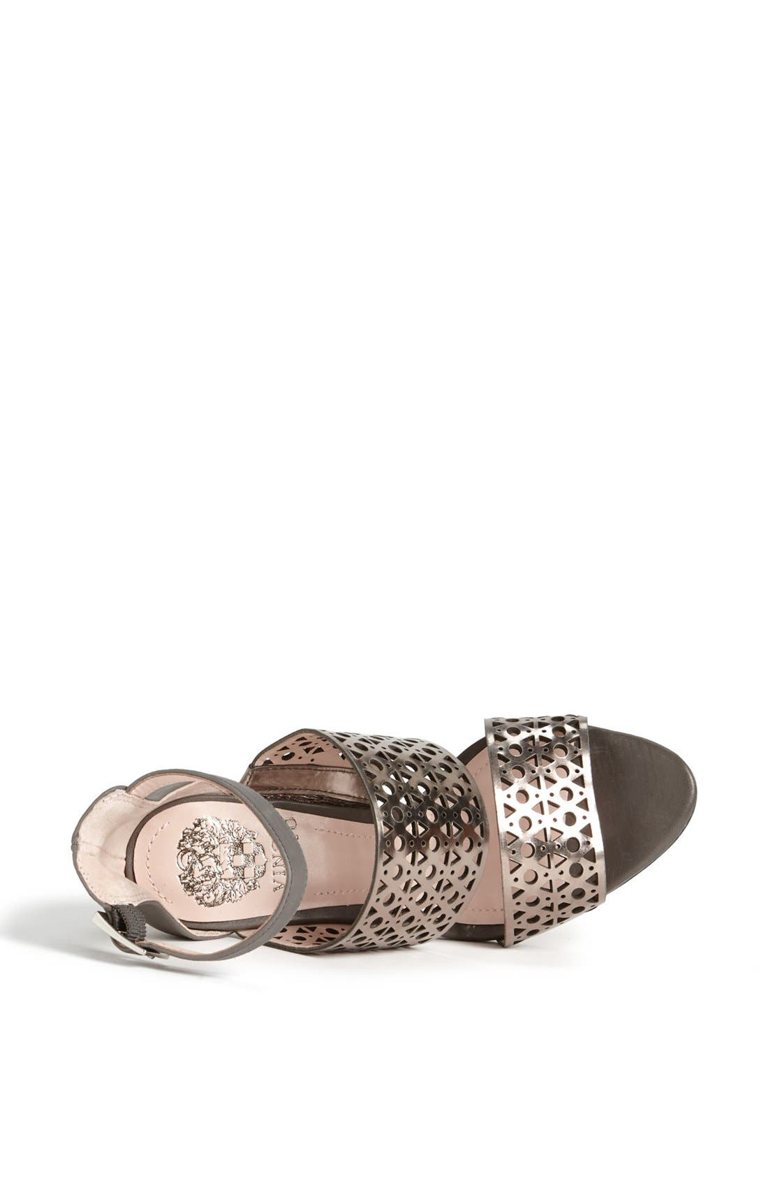 Alternate Image 3  - Vince Camuto 'Okeli' Perforated Ankle Strap Sandal
