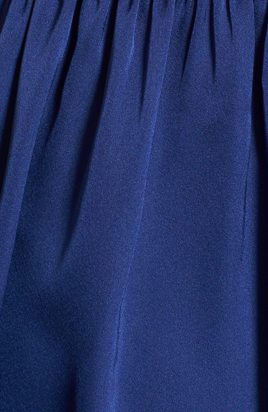 Alternate Image 4  - Jarlo Embellished Satin Fit & Flare Dress