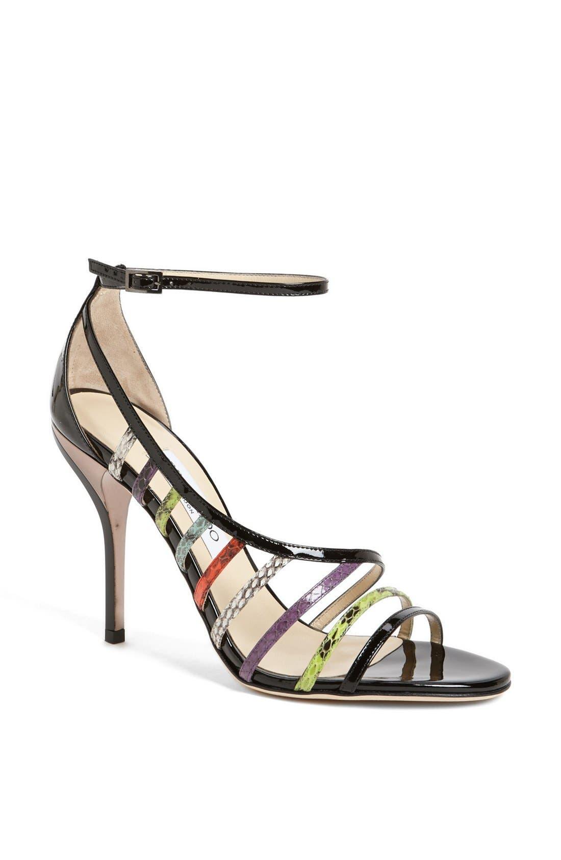 Alternate Image 1 Selected - Jimmy Choo 'Vuka' Ankle Strap Sandal