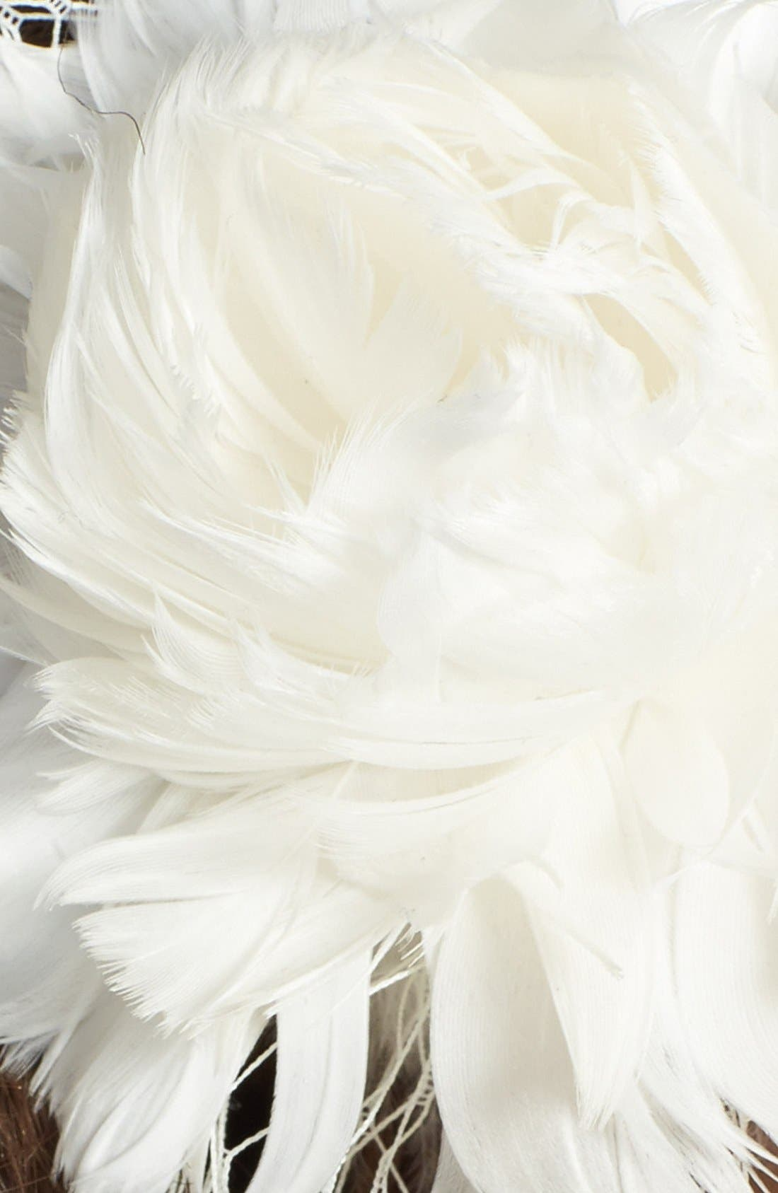 Alternate Image 2  - J-Picone 'Brooklyn' Floral Fascinator