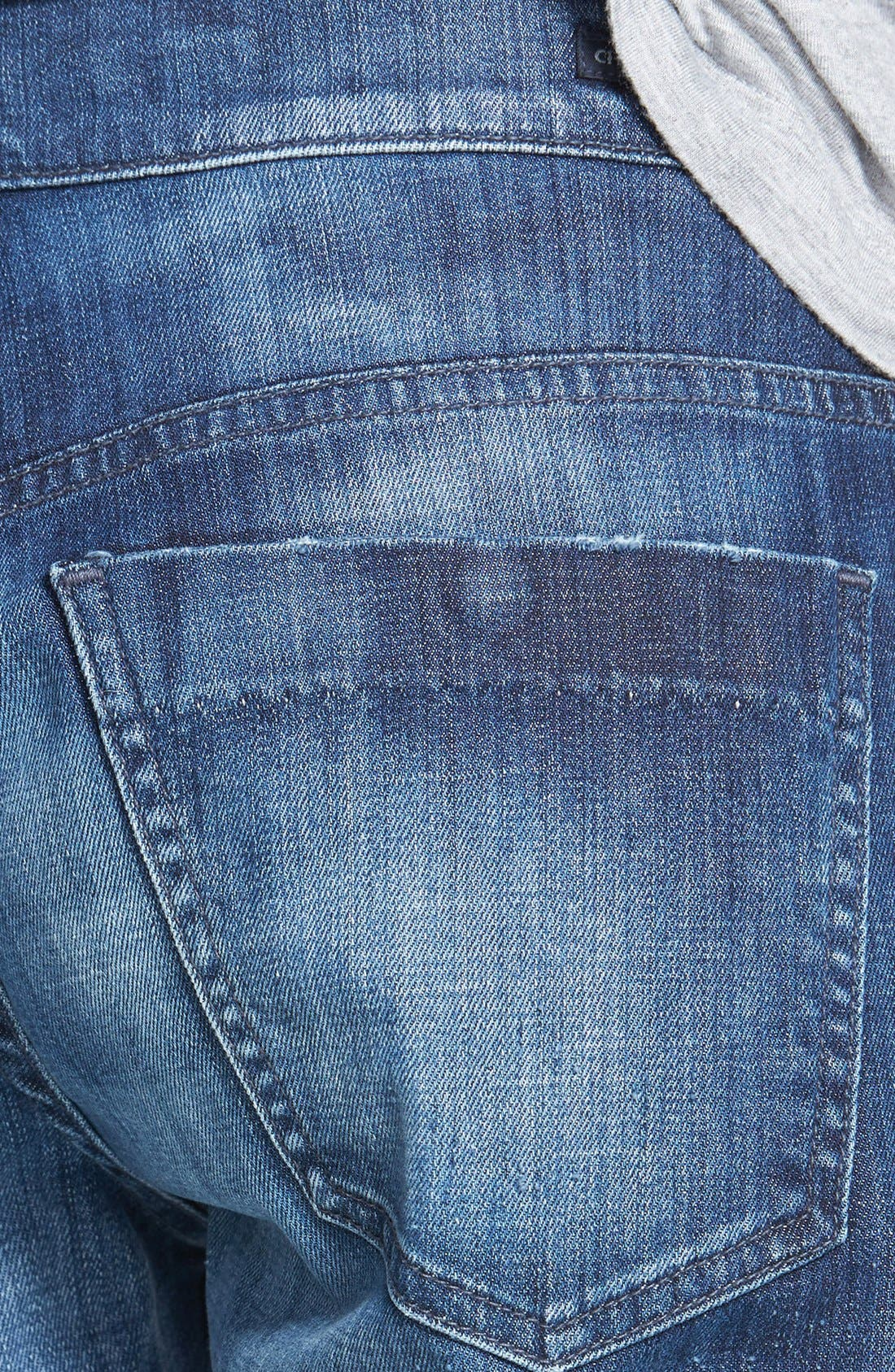 'Skyler' Crop Boyfriend Jeans,                             Alternate thumbnail 3, color,                             Vista