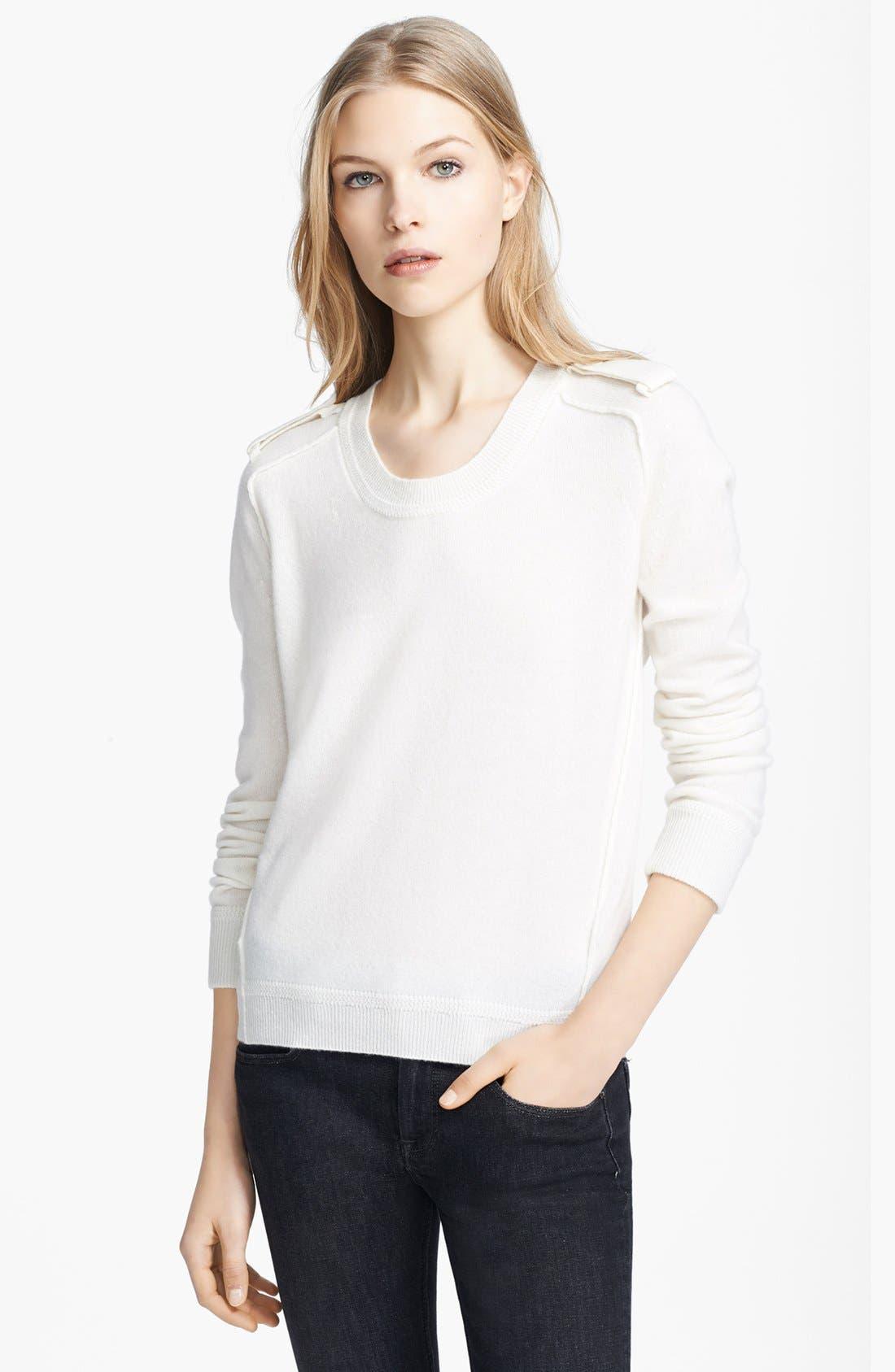 Alternate Image 1 Selected - Burberry Brit Cashmere Crewneck Sweater