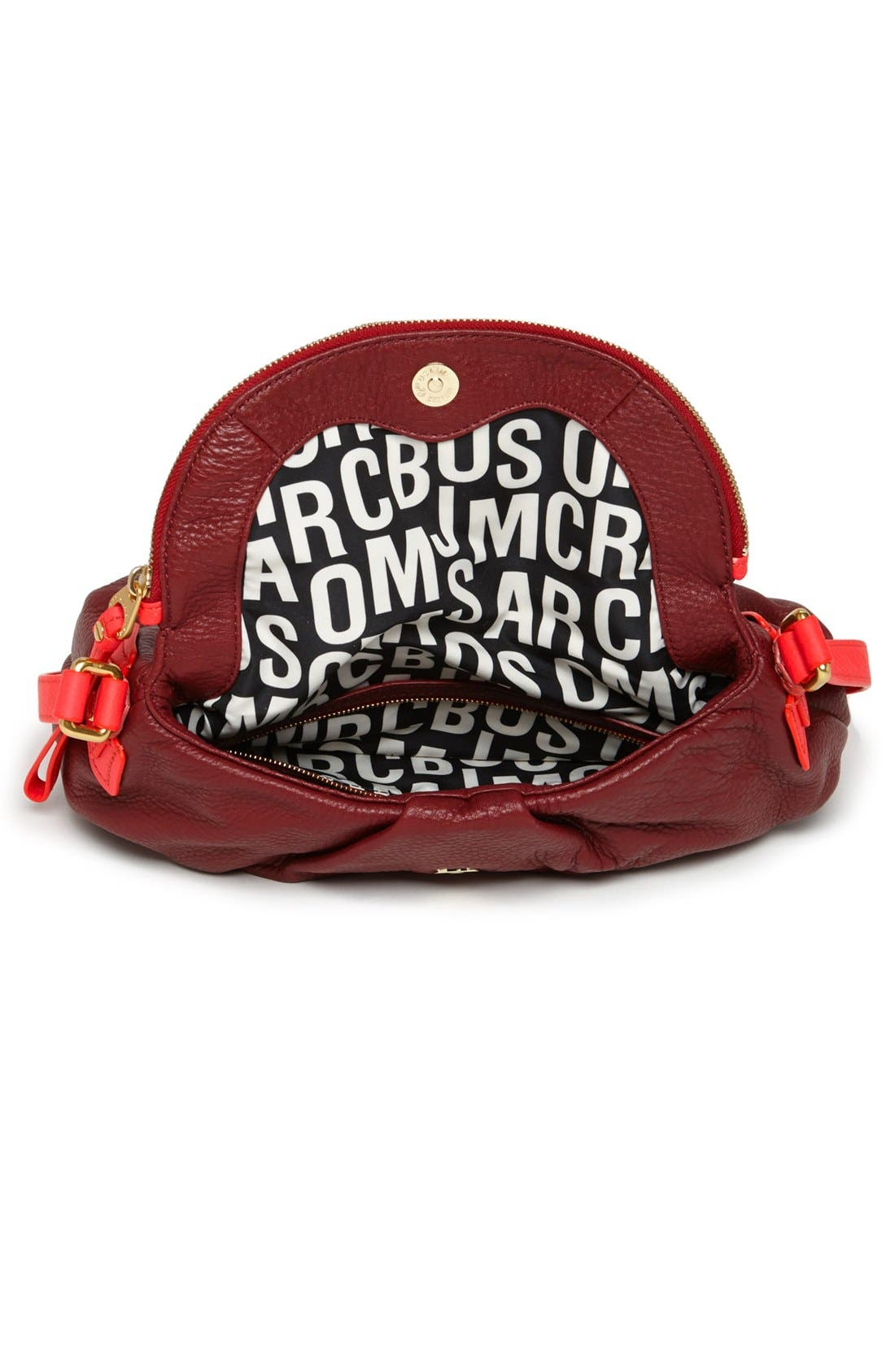 Alternate Image 3  - MARC BY MARC JACOBS 'Classic Q - Natasha' Leather Crossbody Bag