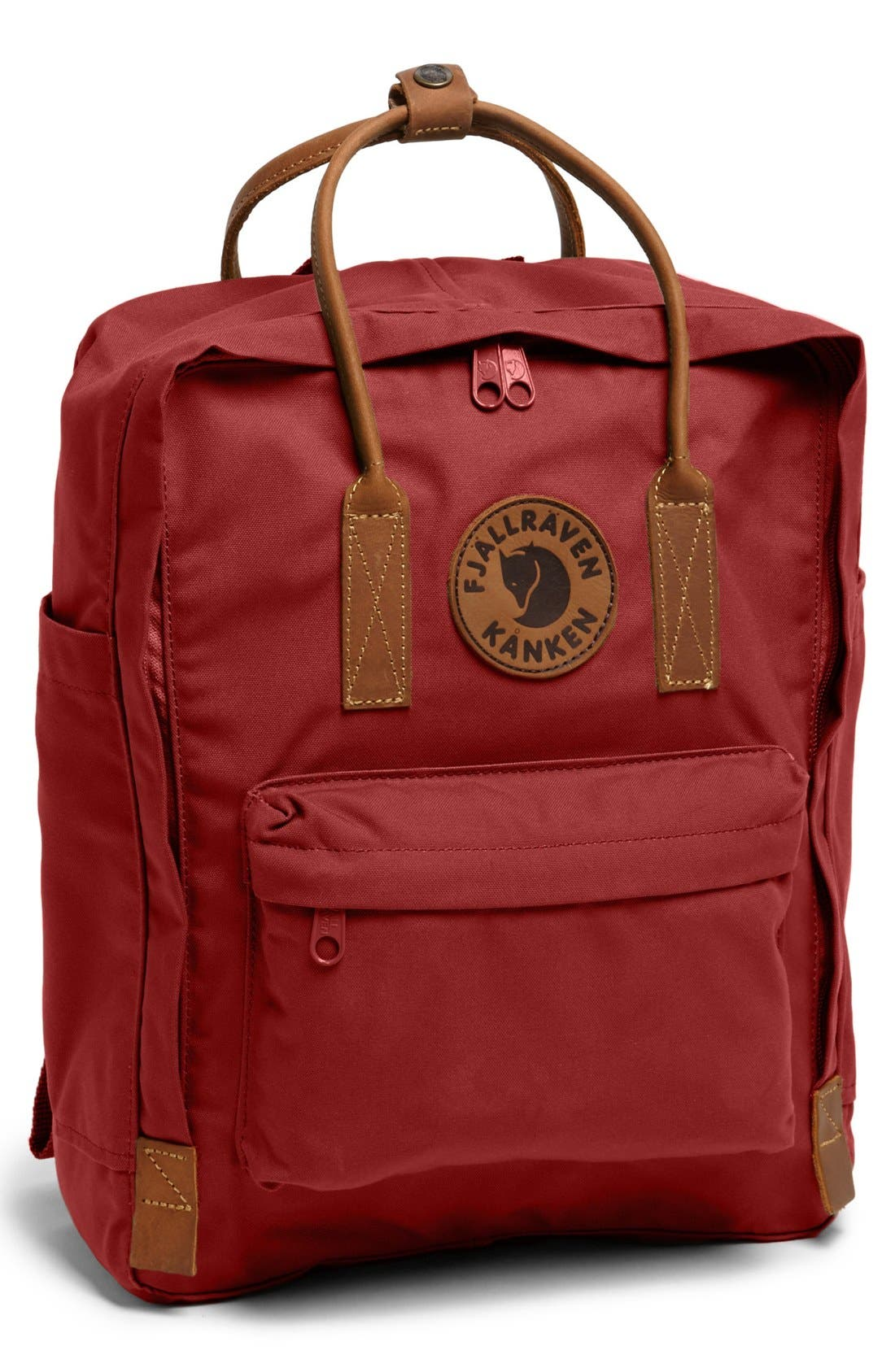 'Kånken No. 2' Backpack,                         Main,                         color, Deep Red