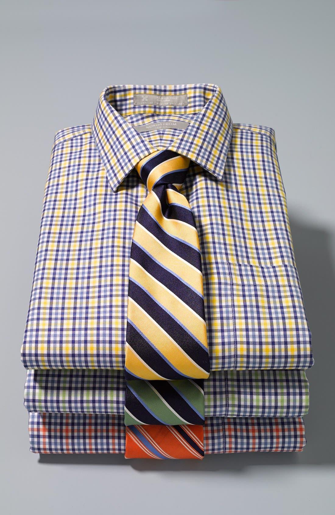 Alternate Image 3  - Nordstrom Woven Silk Tie