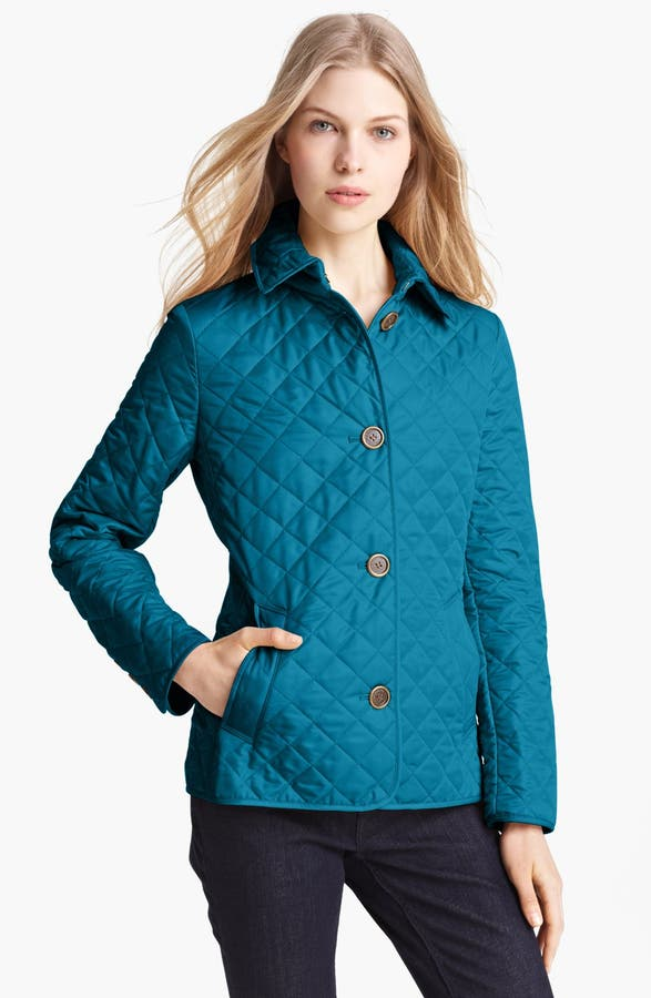 Burberry Brit 'Copford' Quilted Jacket   Nordstrom : burberry brit copford quilted jacket black - Adamdwight.com