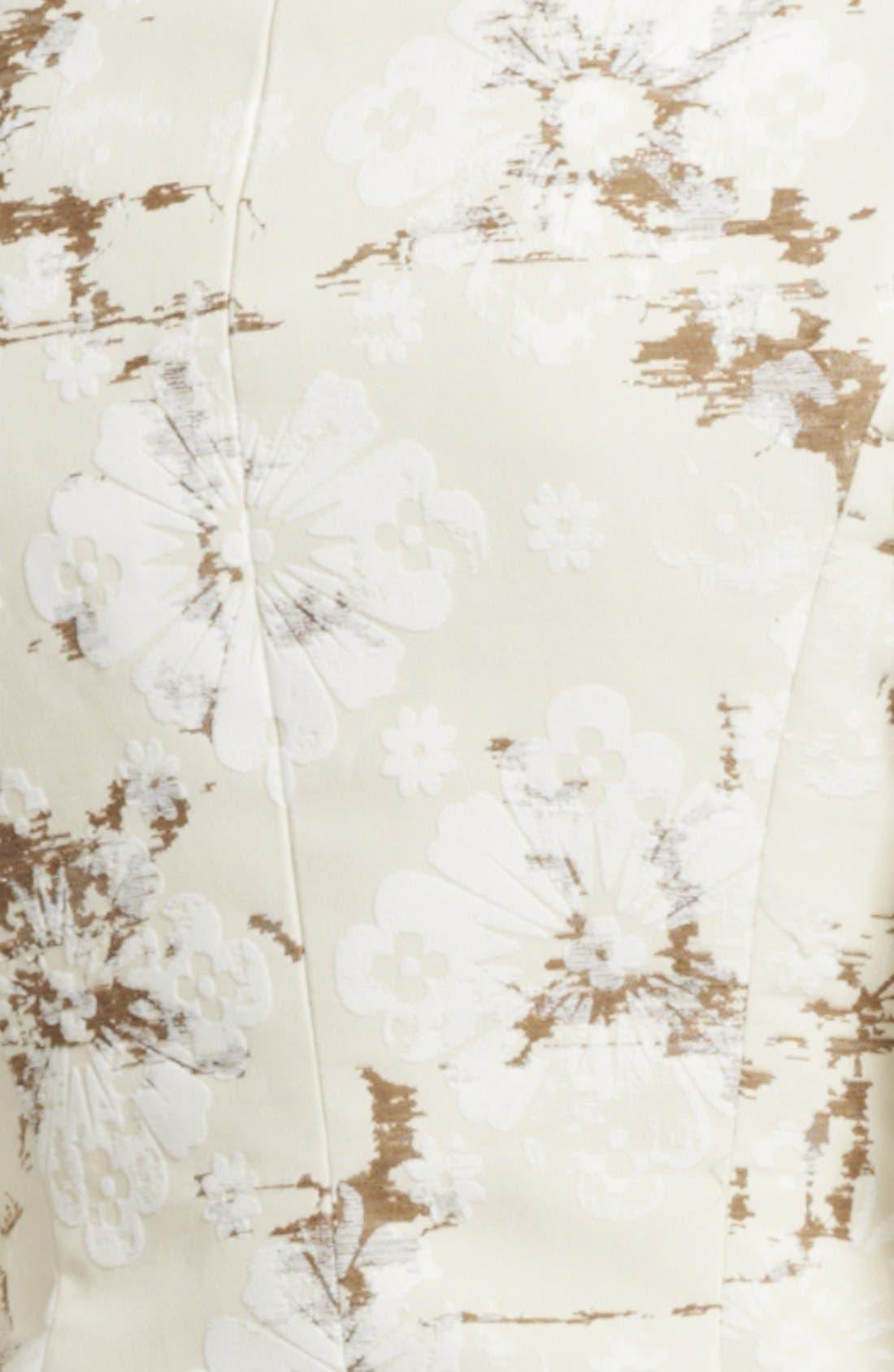 Alternate Image 3  - Alexander McQueen Flocked Cotton Jacquard Blazer