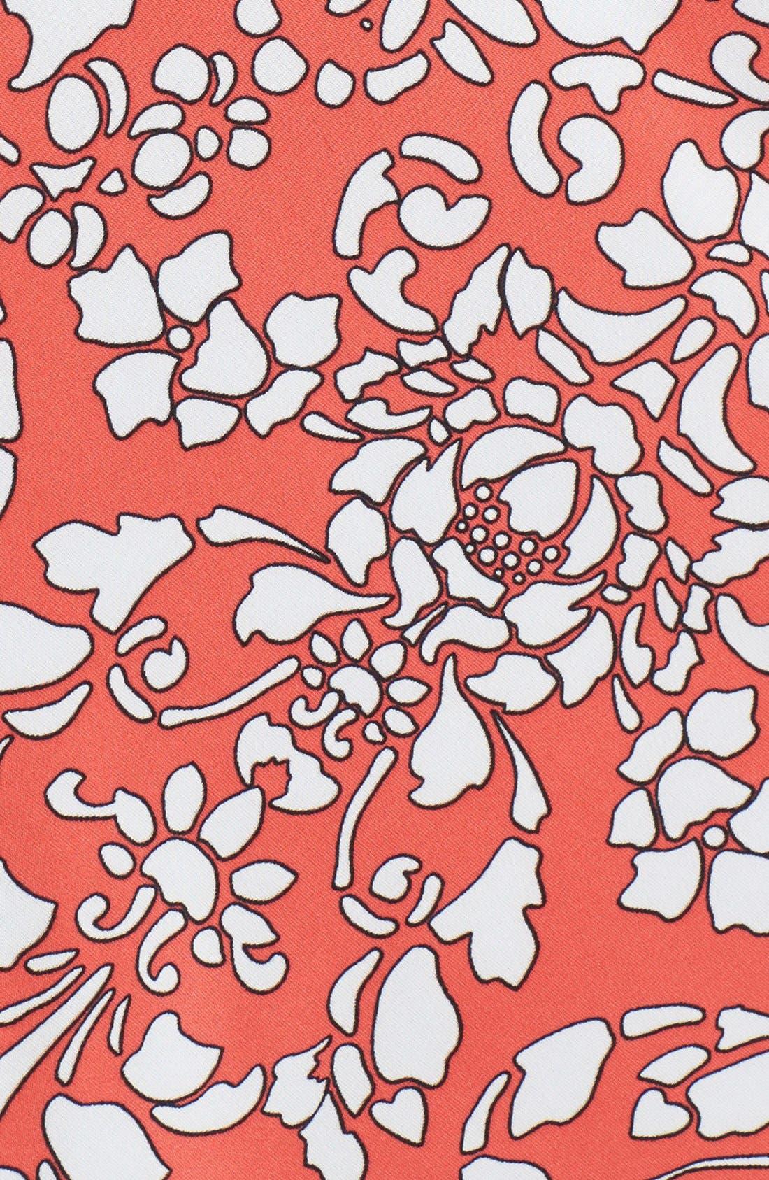 Alternate Image 3  - In Bloom by Jonquil 'Bali' Shark Bite Hem Chemise