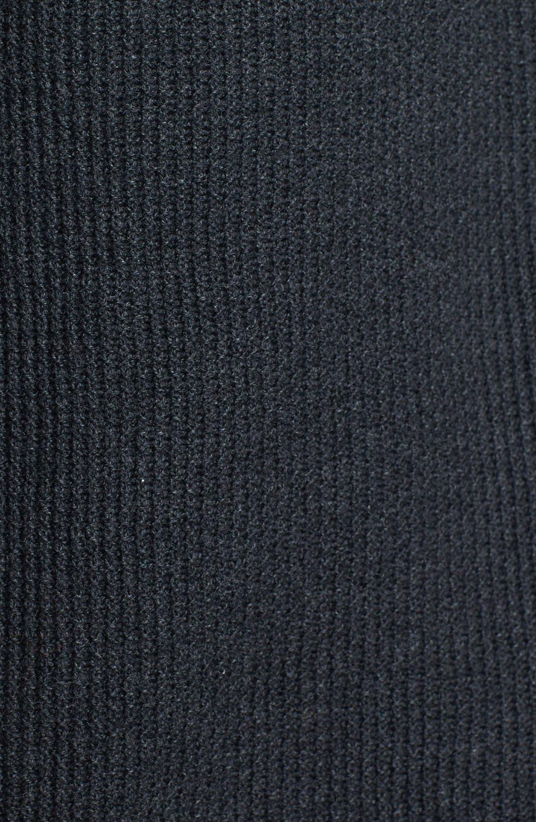 Alternate Image 4  - Eileen Fisher Drape Front Hooded Organic Cotton Cardigan