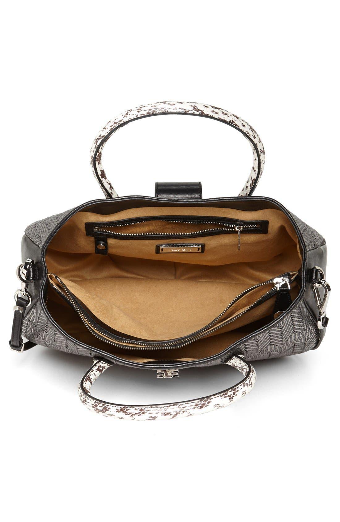 Alternate Image 3  - Jimmy Choo 'Rania' Leather Satchel