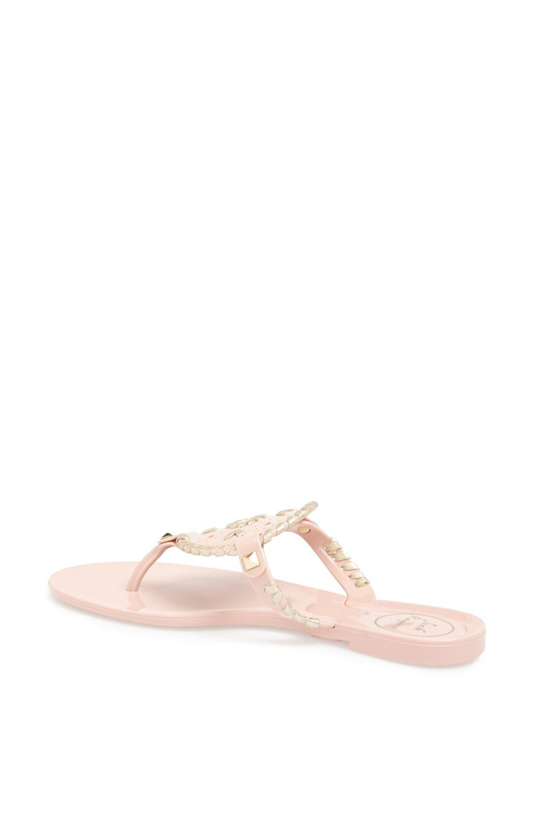 Alternate Image 2  - Jack Rogers 'Georgica' Jelly Flip Flop (Women)