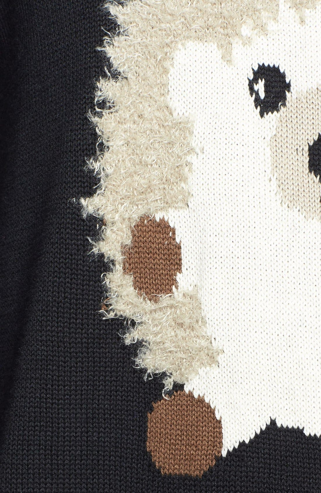 Alternate Image 3  - eric + lani 'Hedgehog' Intarsia Sweater