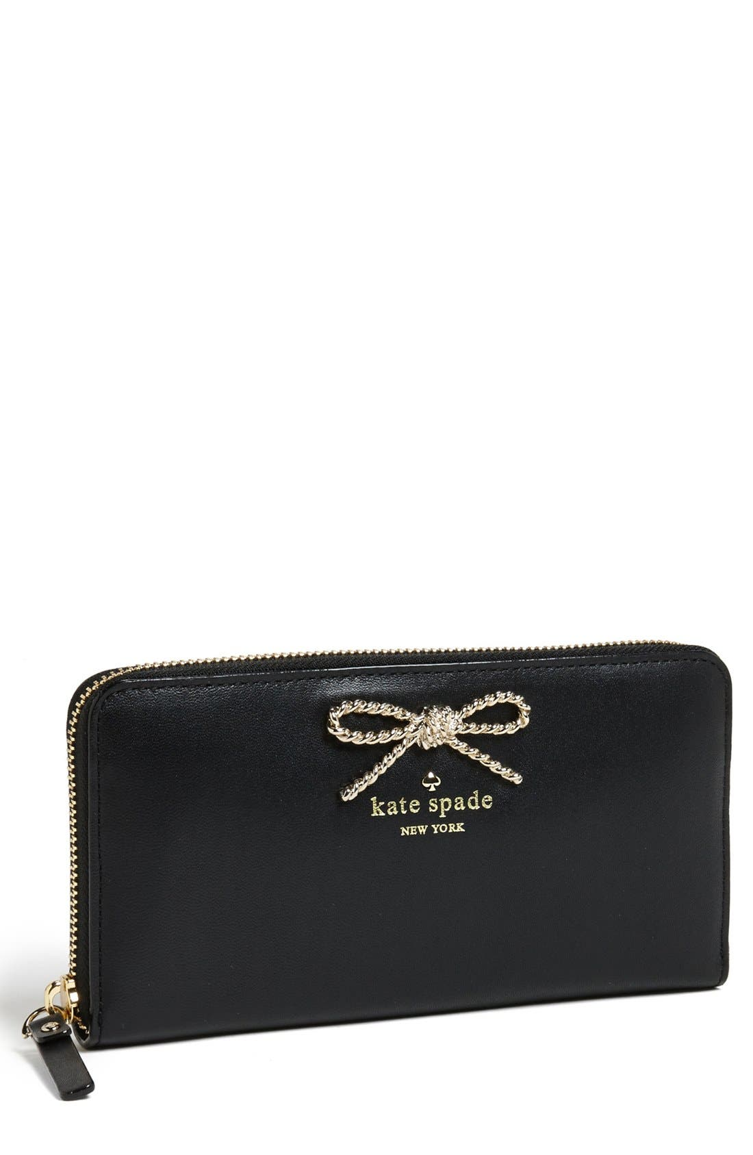 Alternate Image 1 Selected - kate spade new york 'fair maiden - lacey' leather wallet